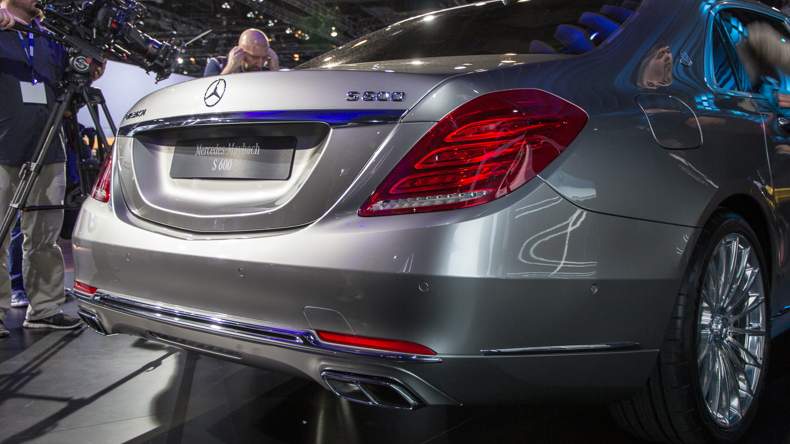 2016 Mercedes-Maybach S600, 2014 Los Angeles Auto Show