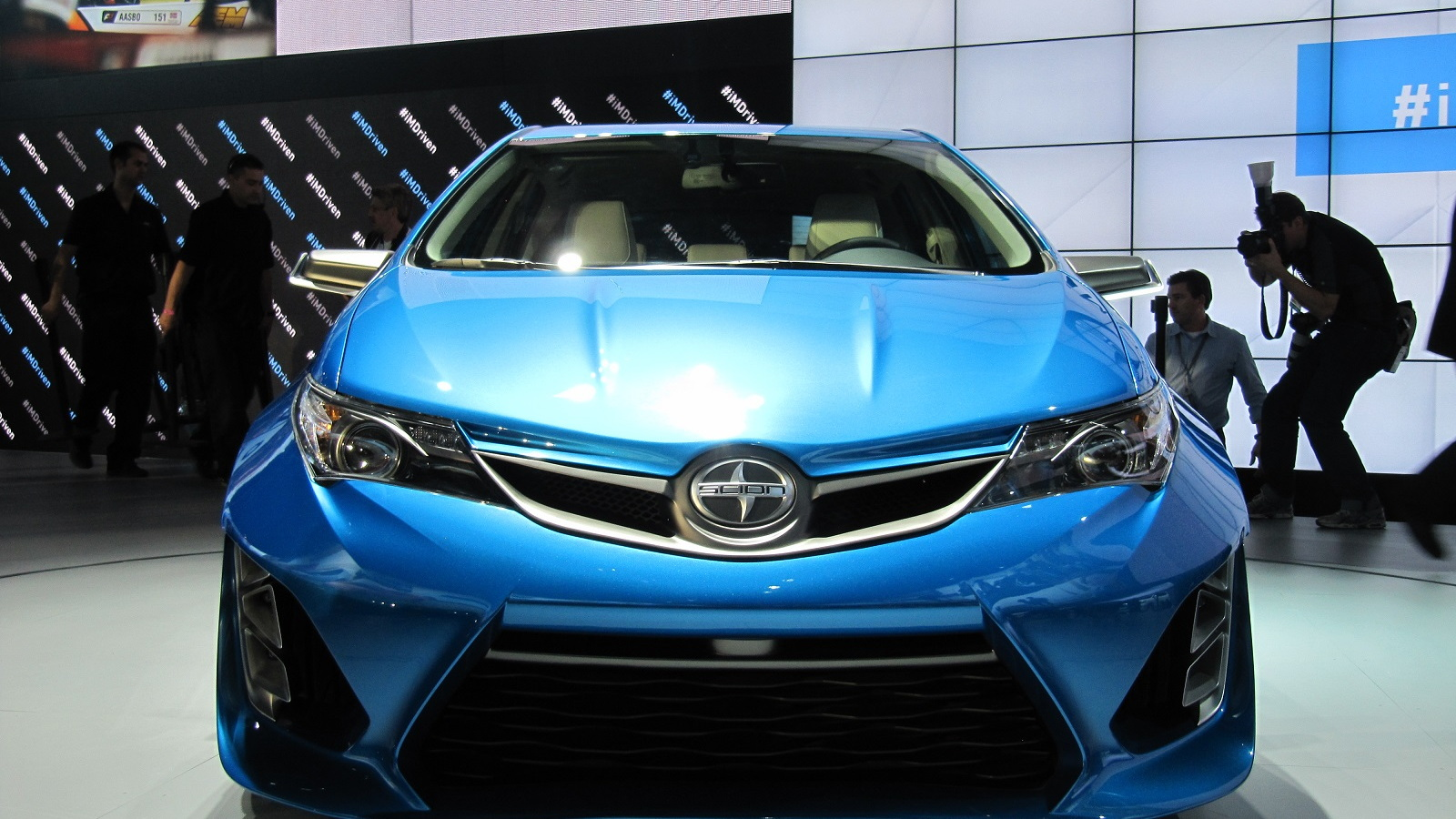Scion iM Concept at 2014 Los Angeles Auto Show