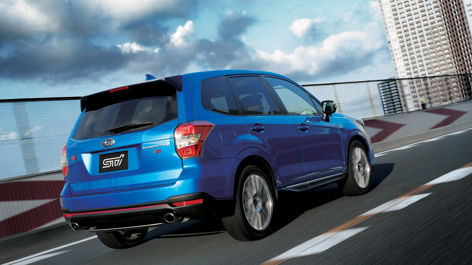 Forester Ts Sti >> Subaru Releases Sti Enhanced Forester Ts In Japan