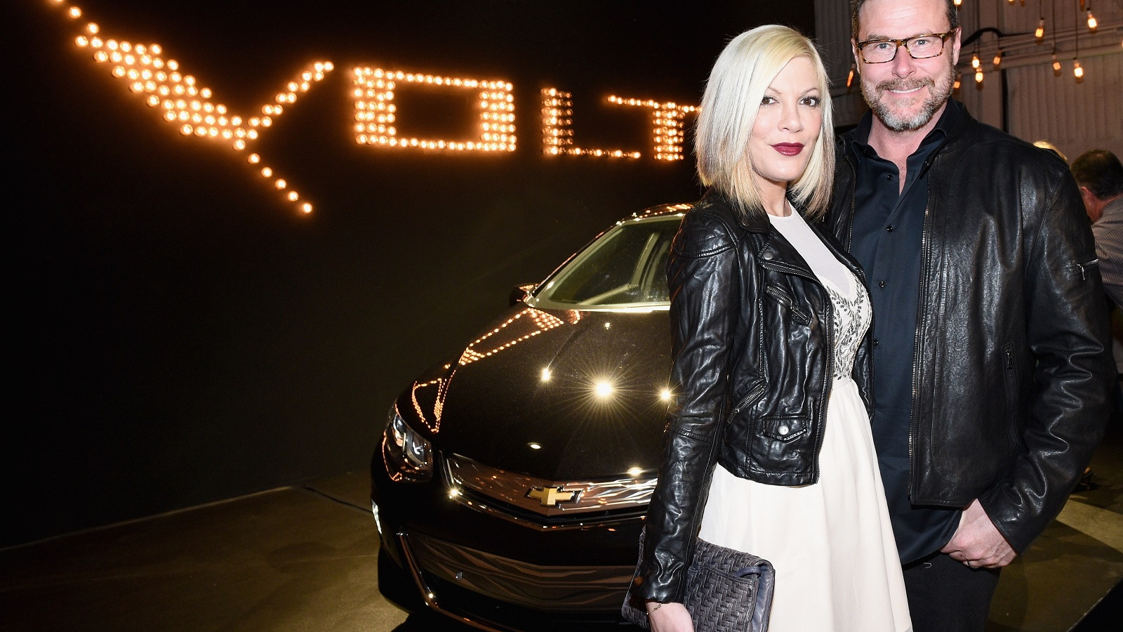 2016 Chevrolet Volt with Tori Spelling and Dean McDermott, Jan 2015