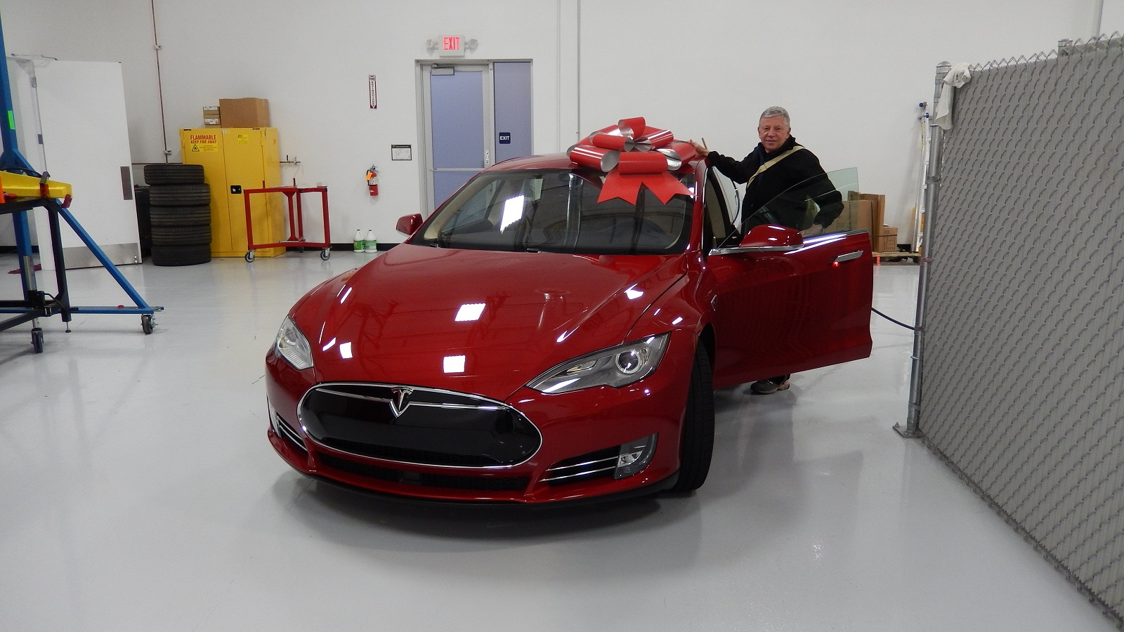 2015 Tesla Model S P85D  [photo: owner George Parrott]