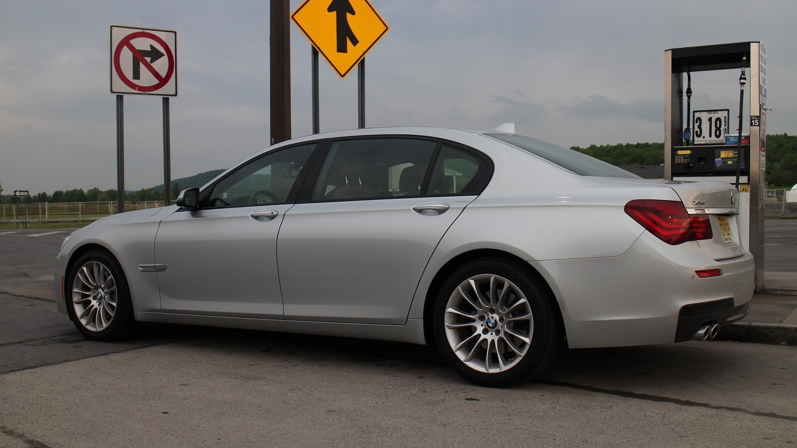 2015 BMW 740Ld xDrive, upstate New York, May 2015