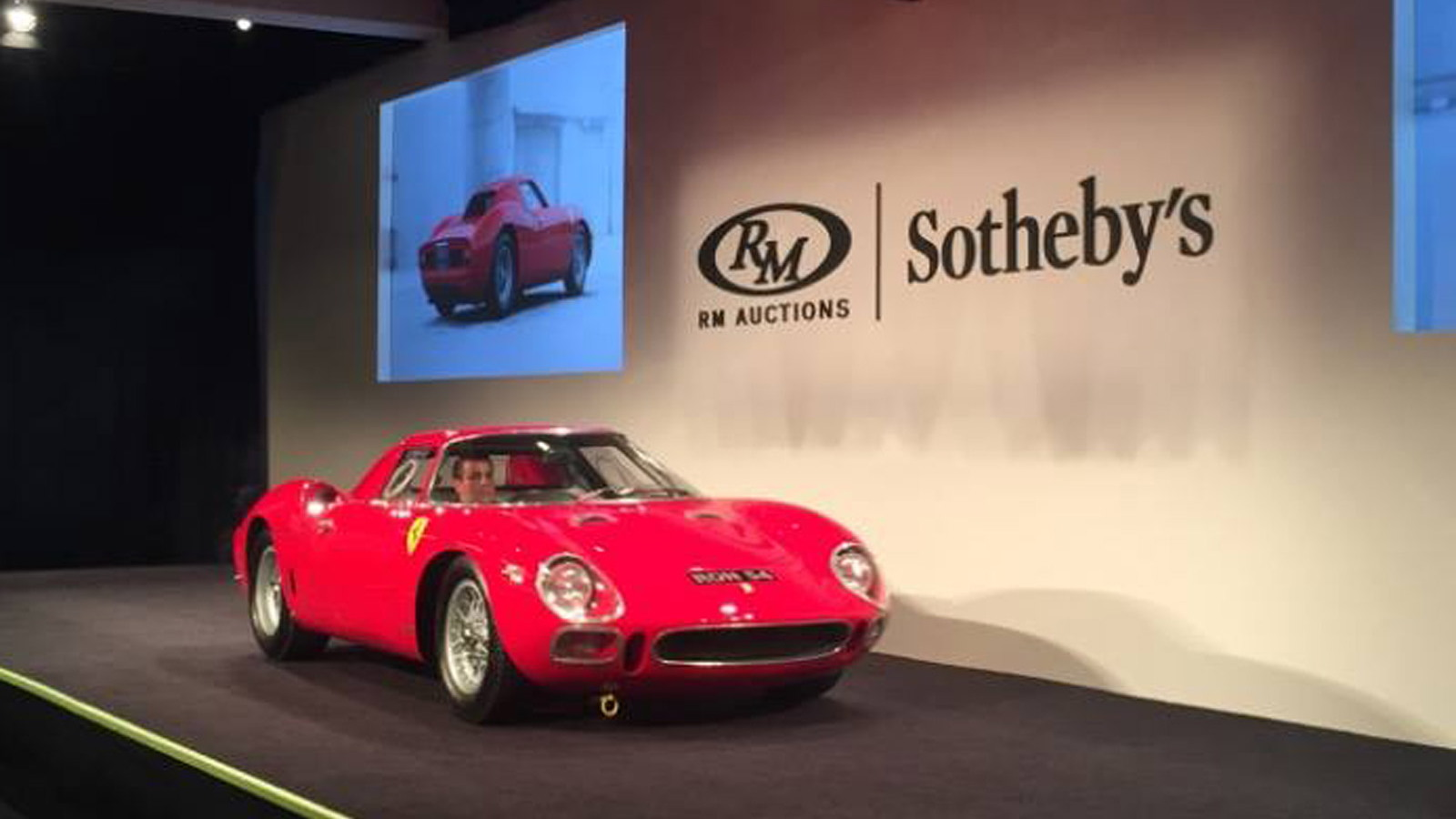 1964 Ferrari 250 LM sells for $17.6 million