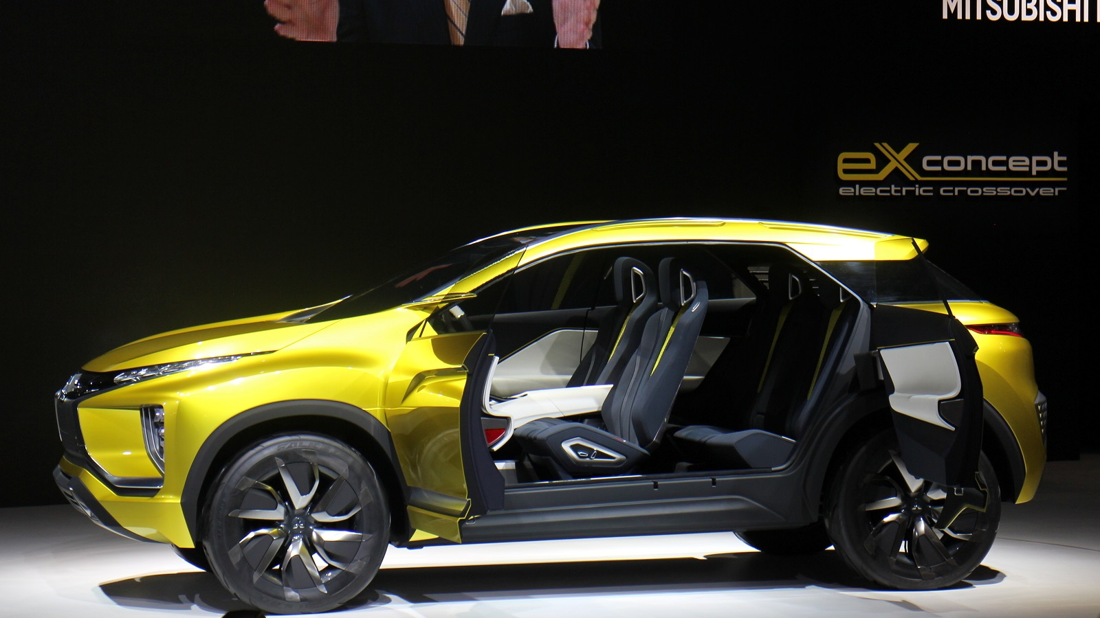 Mitsubishi eX Concept, 2015 Tokyo Motor Show