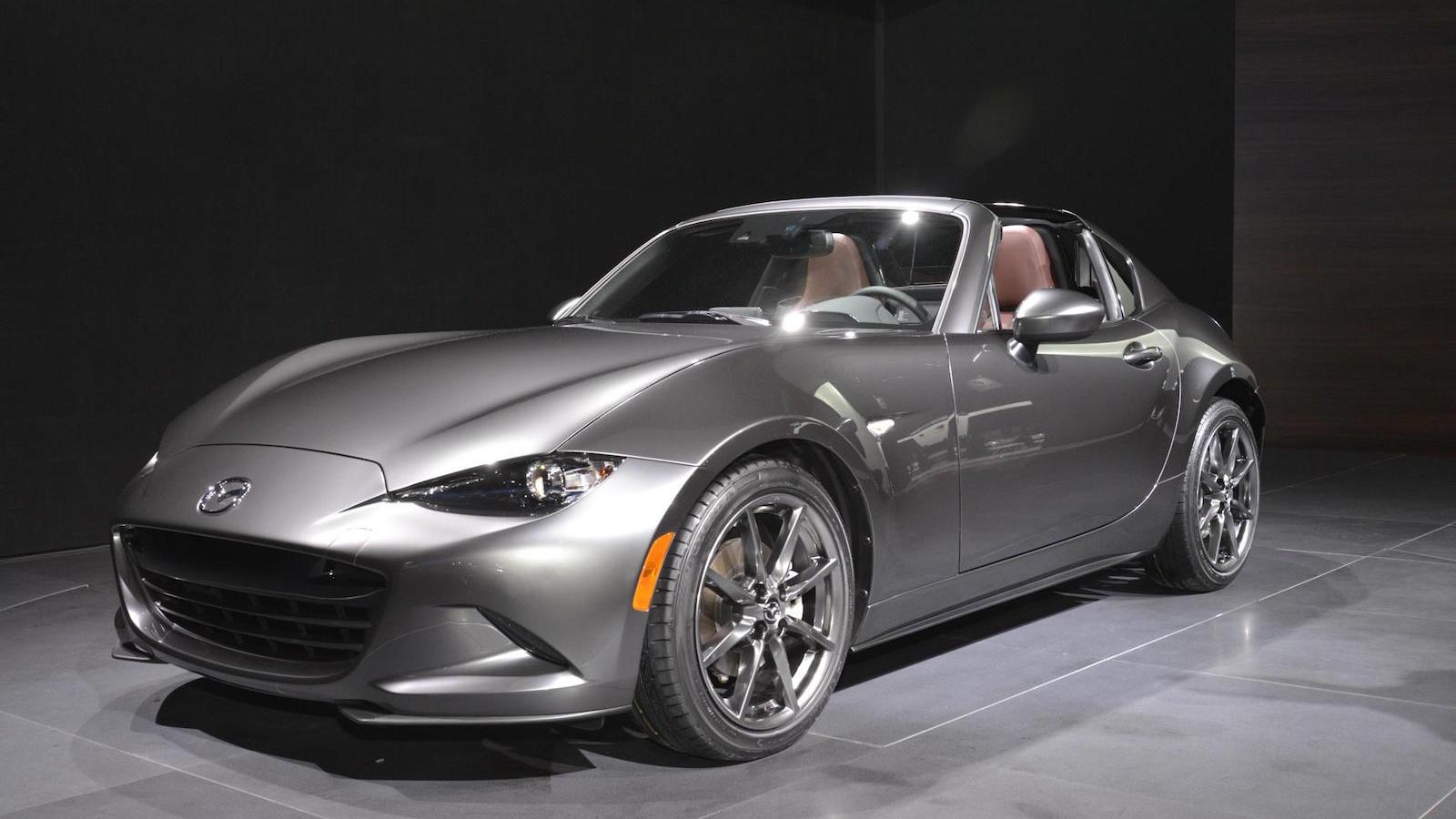 2017 Mazda MX-5 Miata RF, 2016 New York Auto Show