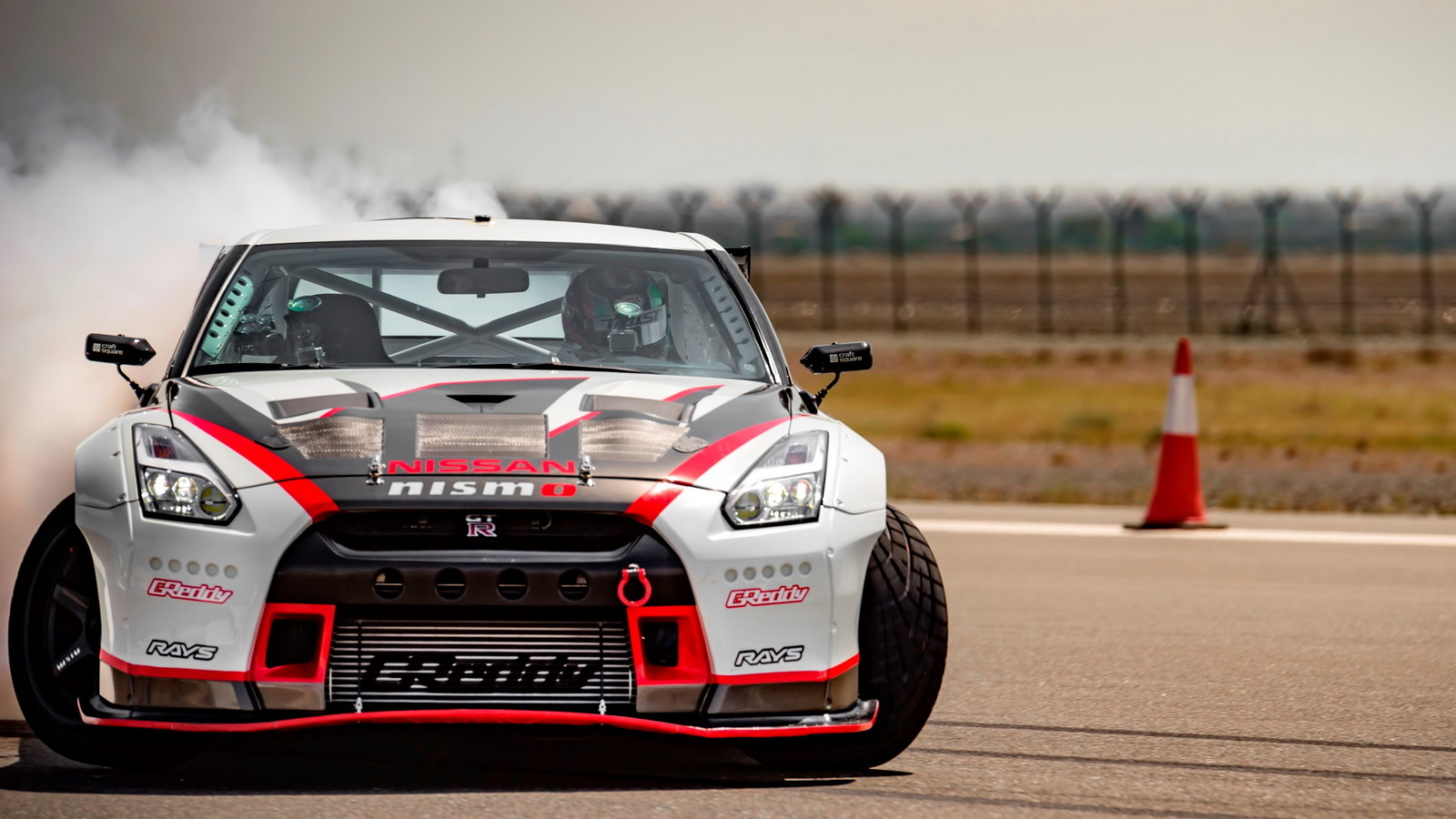 Modified Nissan GT-R Nismo breaks drifting record