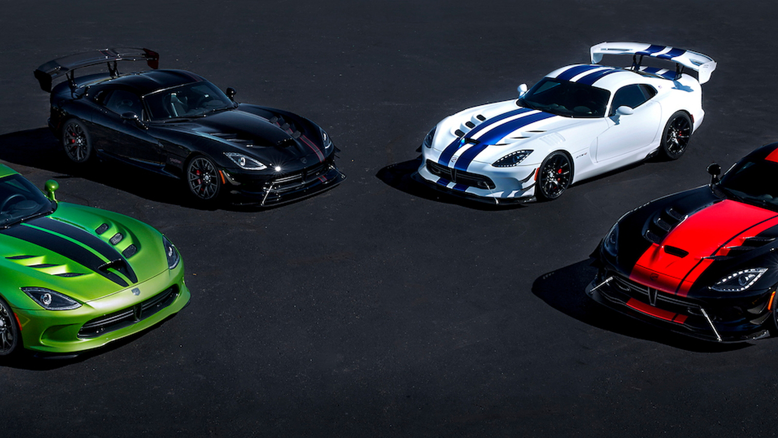 2017 Dodge Viper 25th anniversary limited edition models