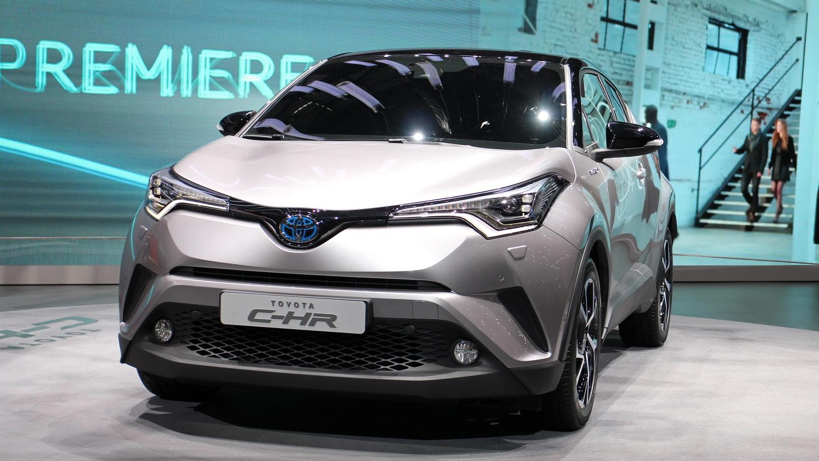 2018 Toyota C-HR (European spec), 2016 Geneva auto show