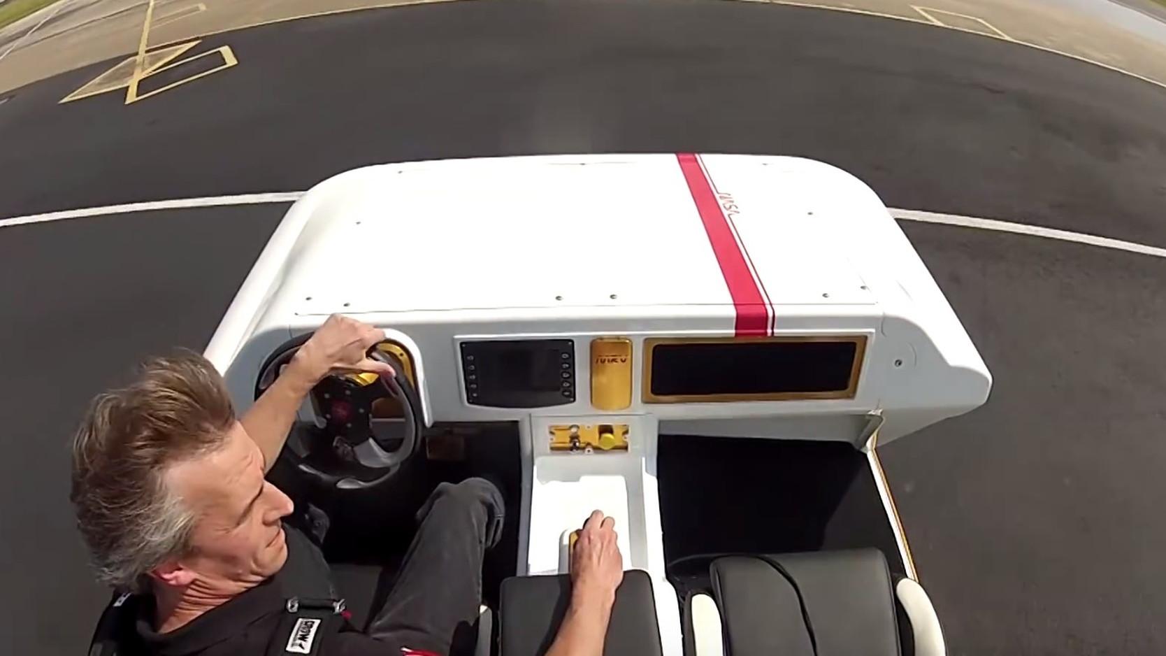NASA's Modular Robotic Vehicle (MRV) prototype