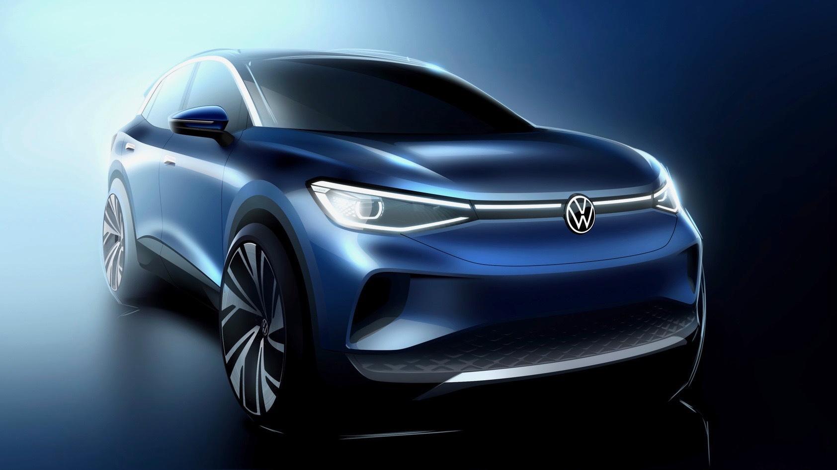 2021 Volkswagen ID.4 rendering