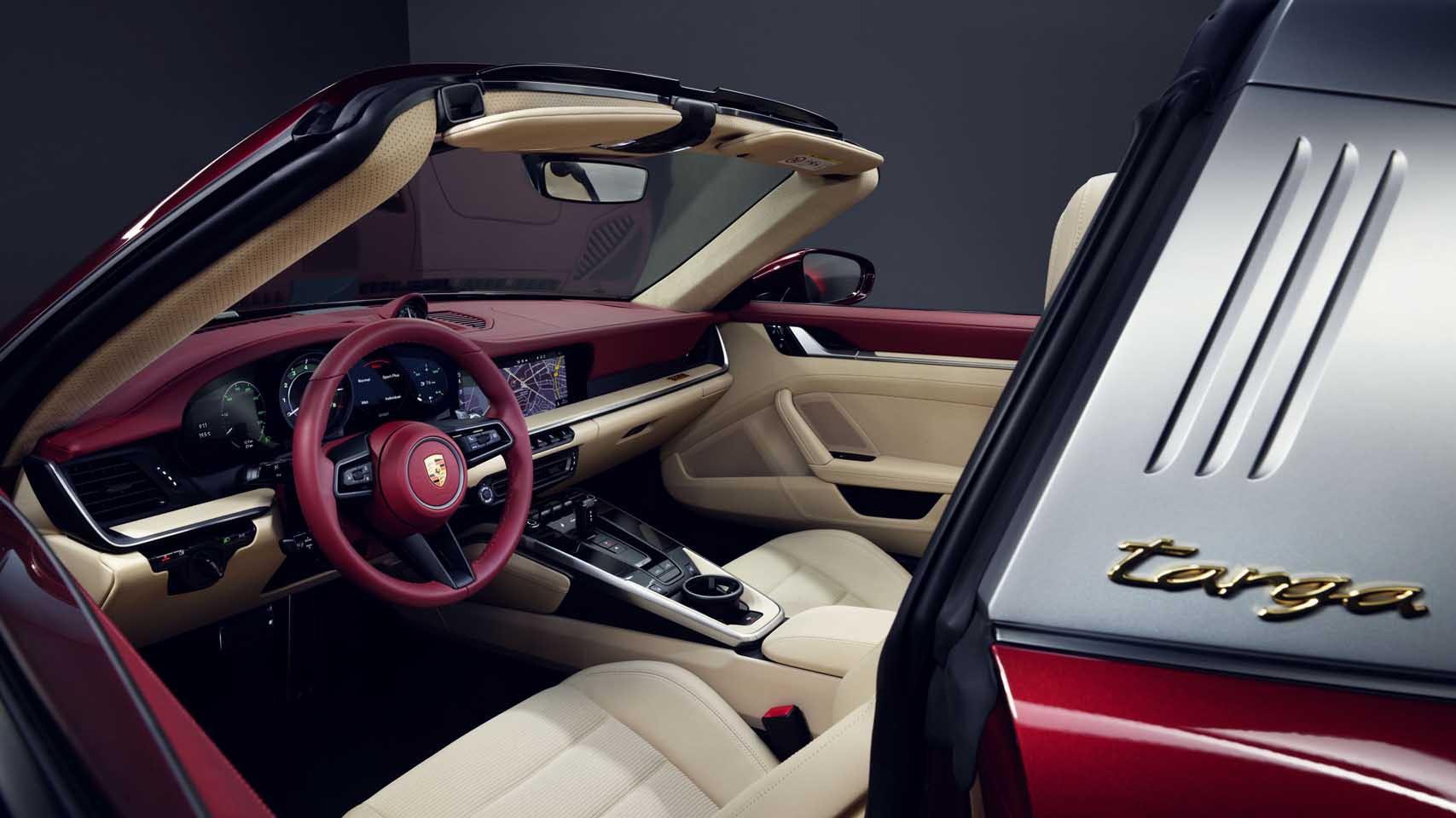 2021 Porsche 911 Targa 4S Heritage Design