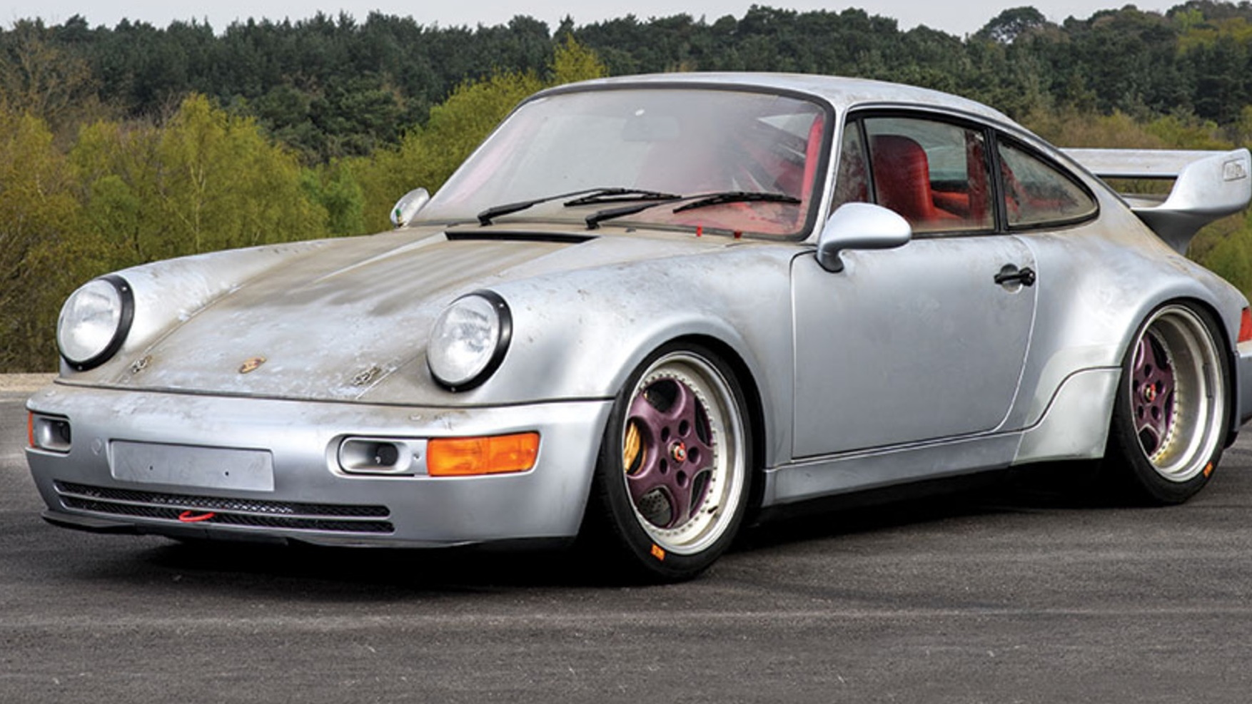 Forgotten 1993 Porsche 911 Carrera RSR for sale with only 6