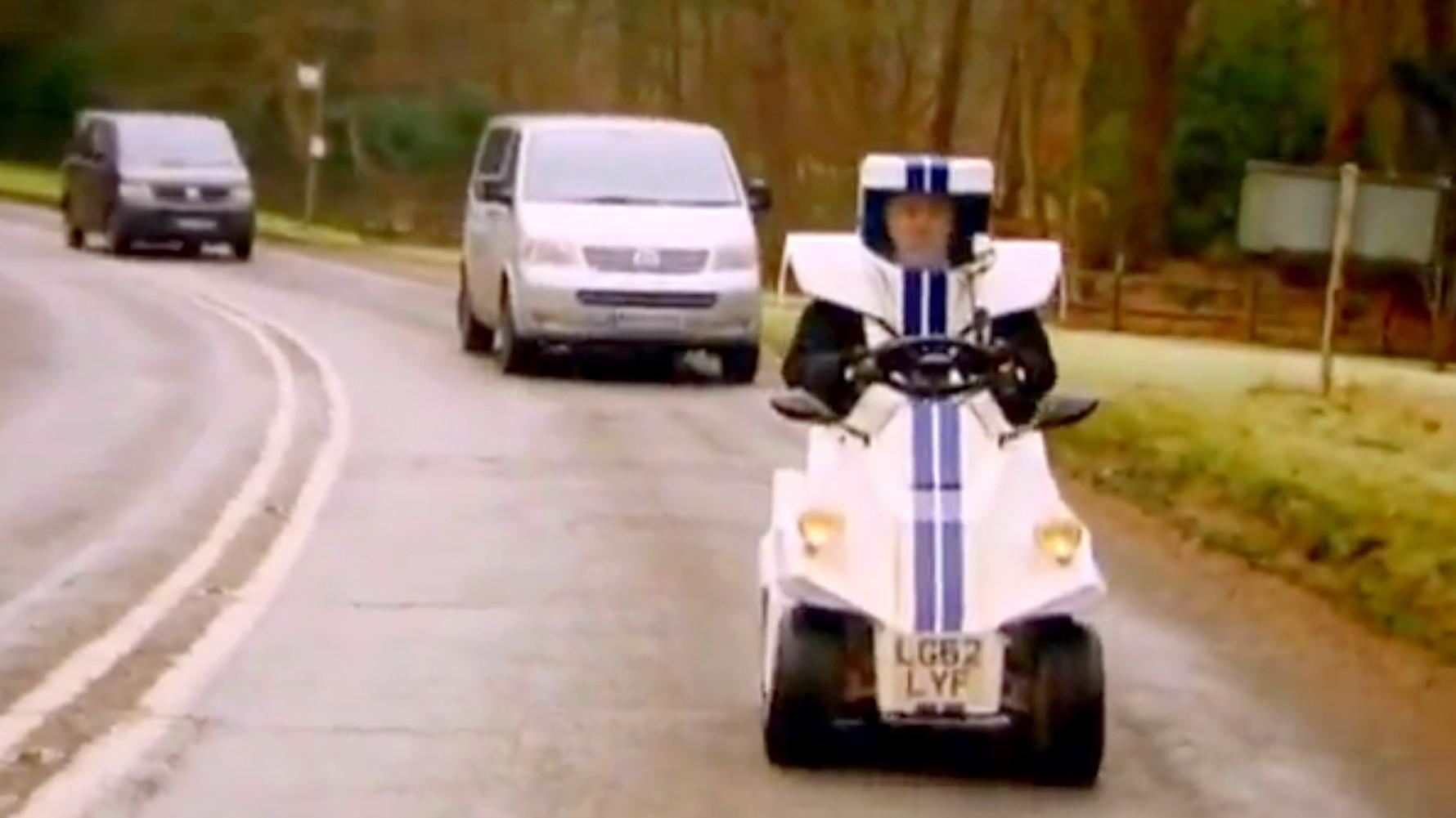 Jeremy Clarkson's P45 on Top Gear [Image: BBC]
