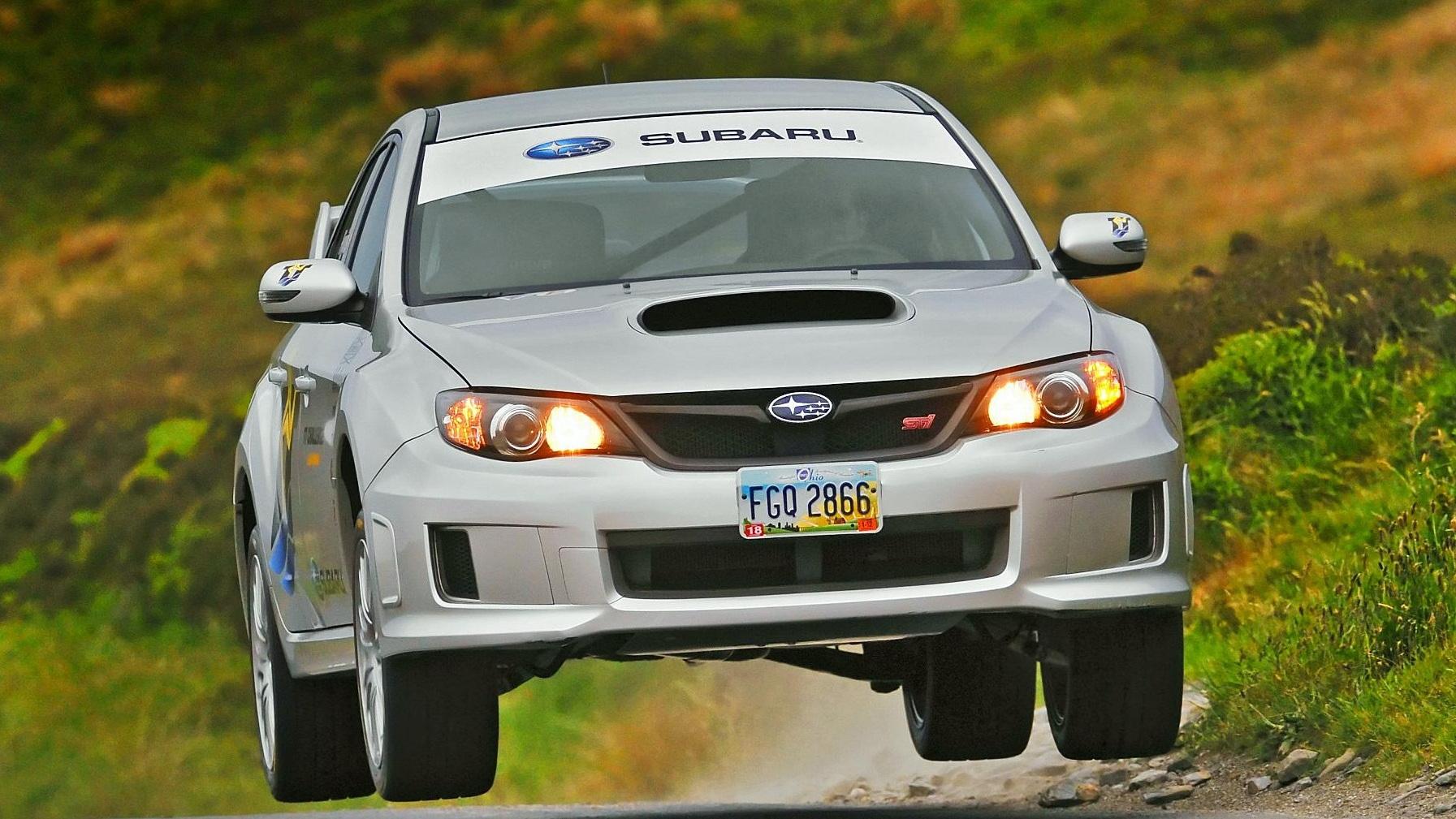 Subaru WRX STI sets new Isle of Man TT lap record