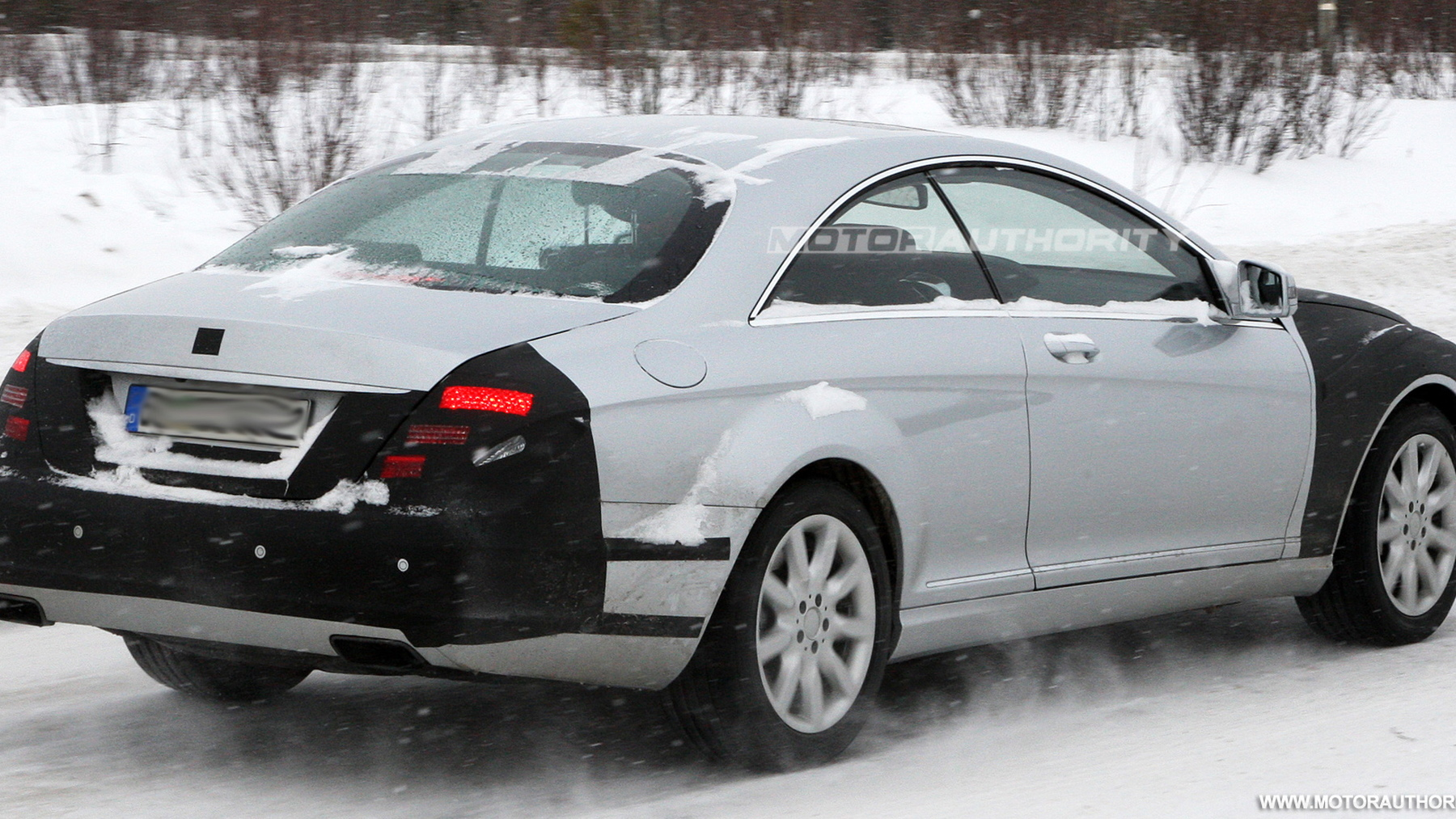 2011 mercedes benz s class coupe spy shots march 005