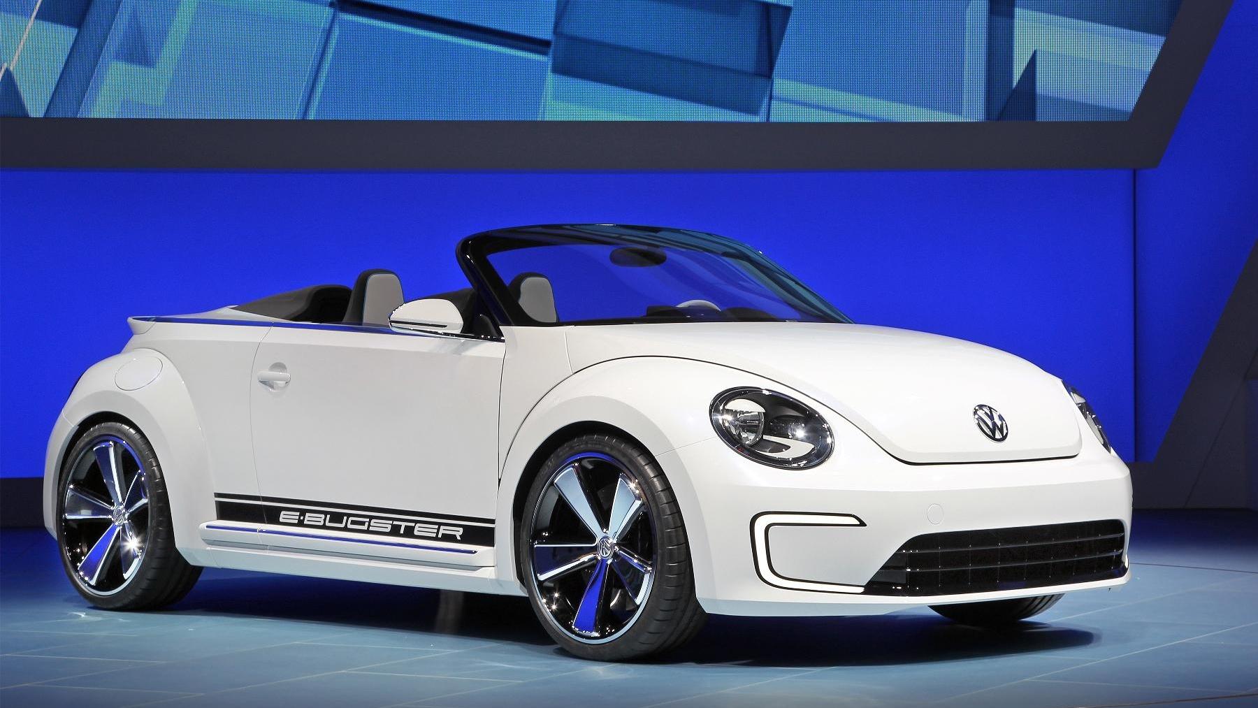 Volkswagen E-Bugster: 2012 Beijing Auto Show