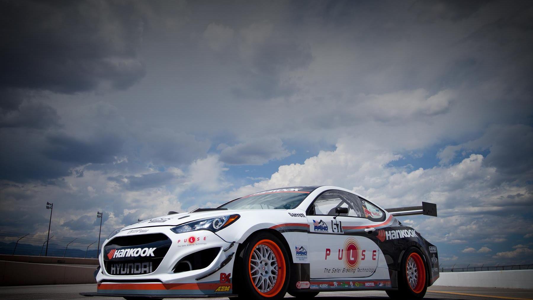 Rhys Millen's Pikes Peak Hyundai Genesis.