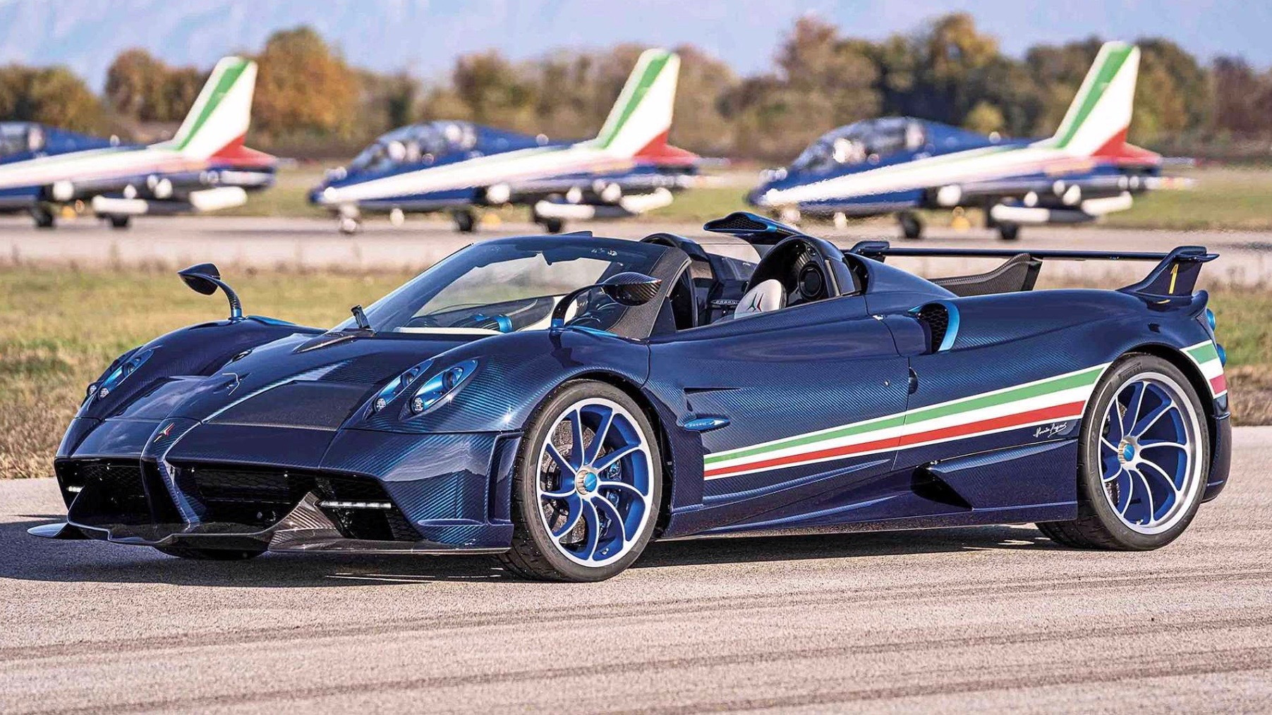 Pagani's 829hp Huayra Tricolore is a Rs. 50 crore hypercar