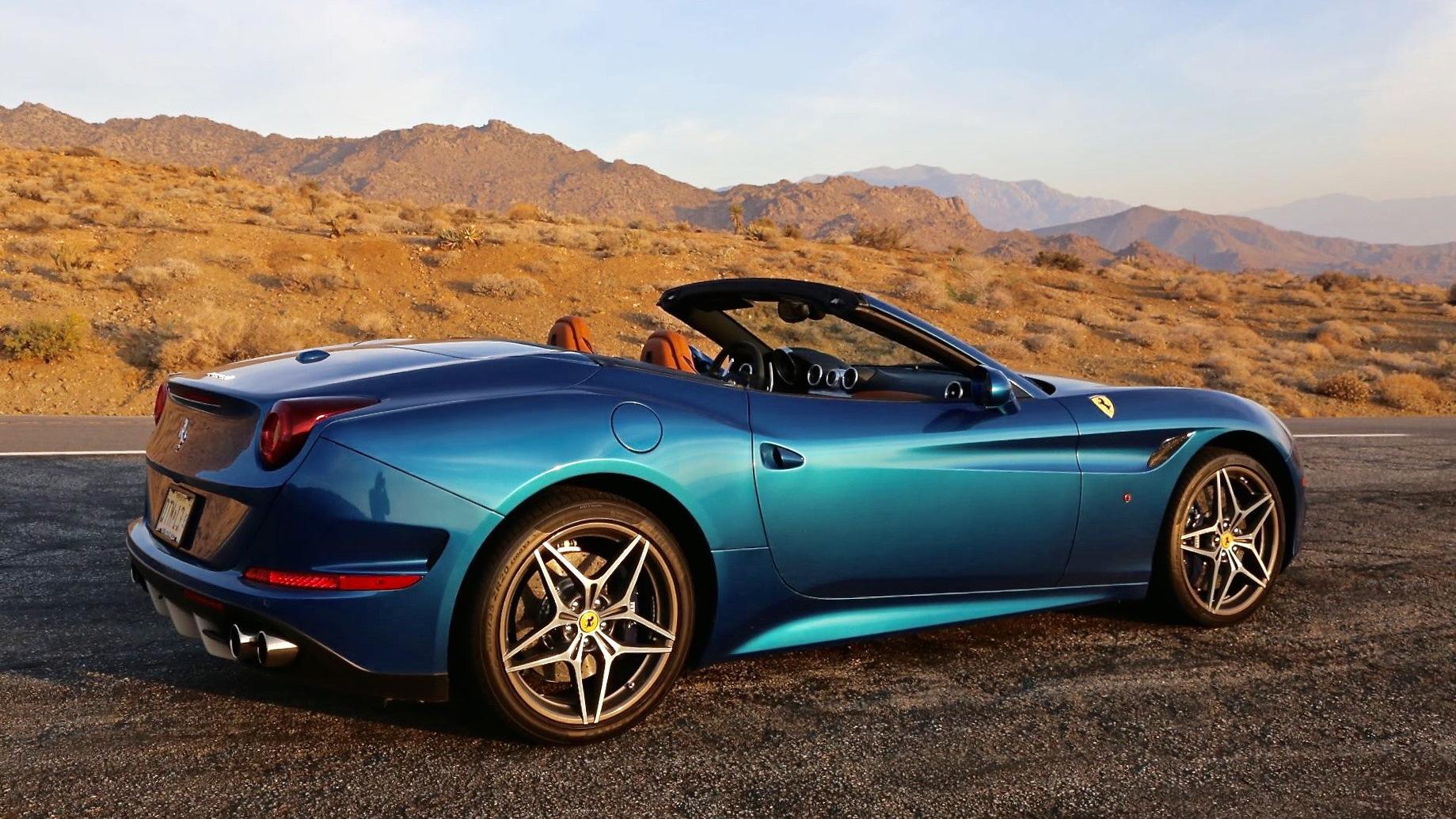 2015 Ferrari California T joy ride