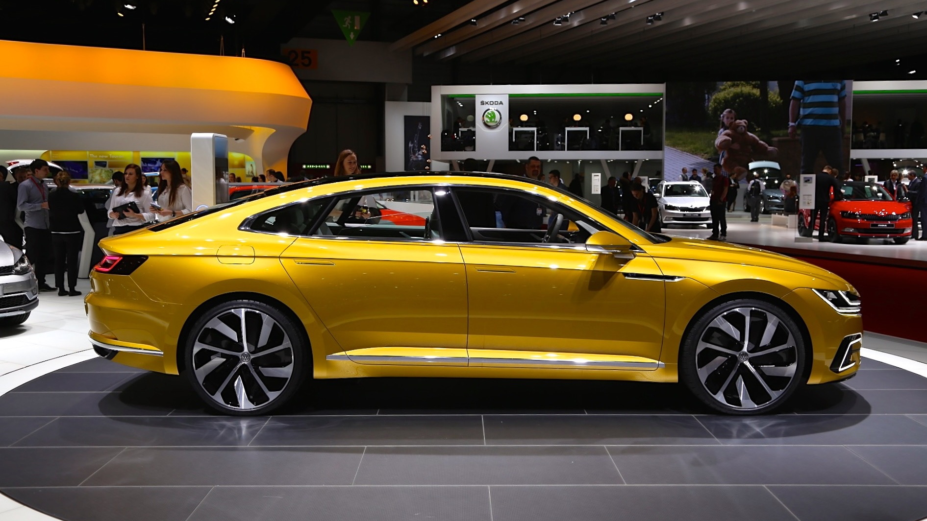 Volkswagen Sport Coupe GTE concept, 2015 Geneva auto show