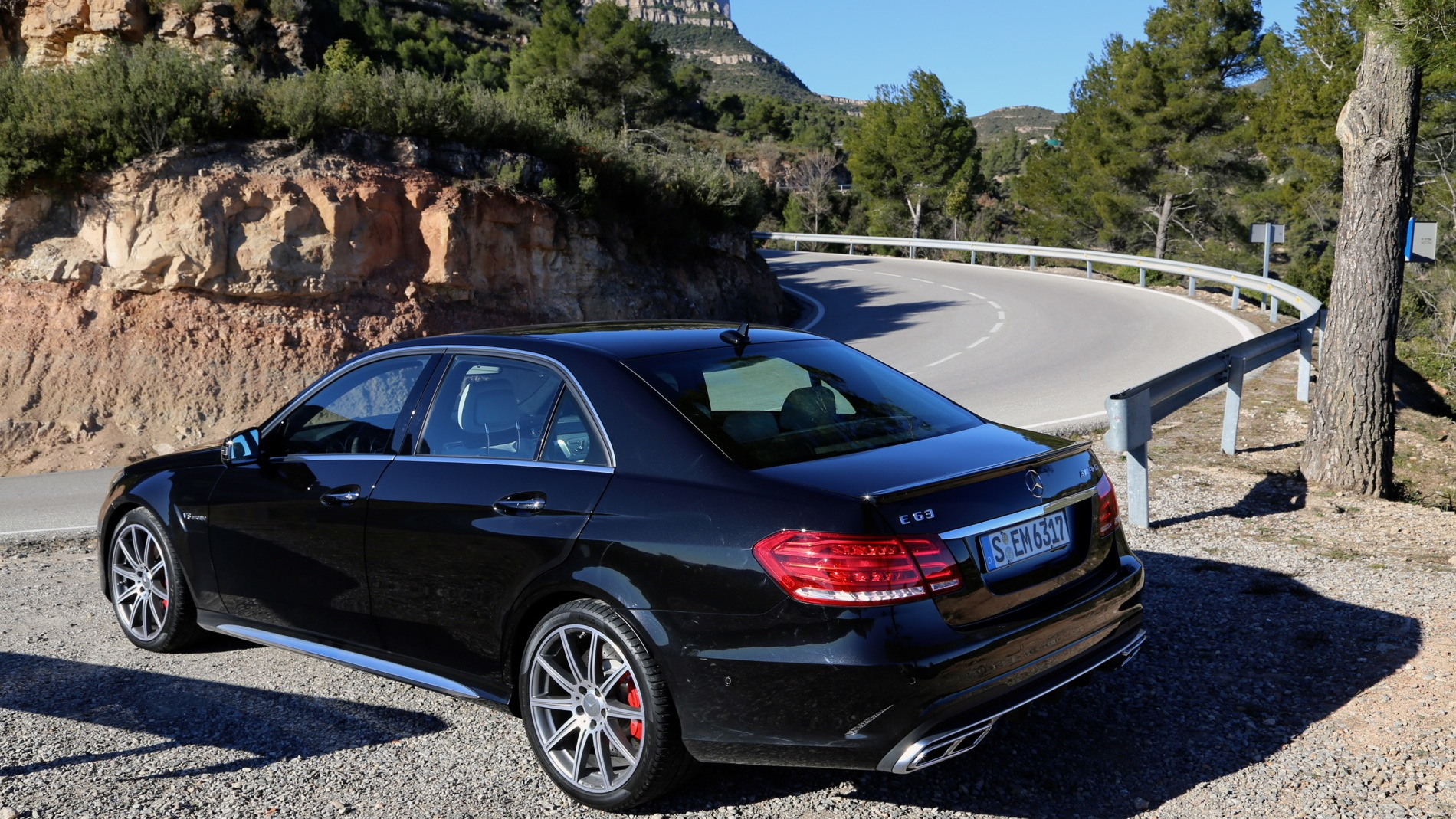 2014 Mercedes-Benz E400 and E63 AMG first drive, Barcelona