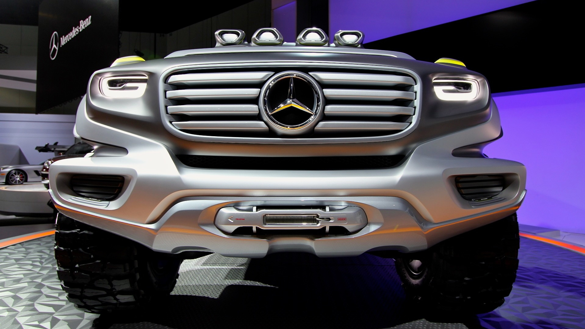 Mercedes-Benz Ener-G-Force Concept, 2012 Los Angeles Auto Show