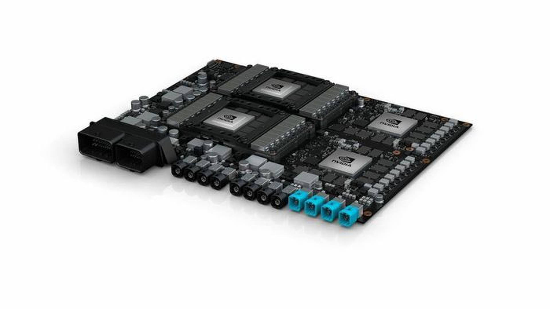 Nvidia Pegasus supercomputer for Level-5 self-driving cars