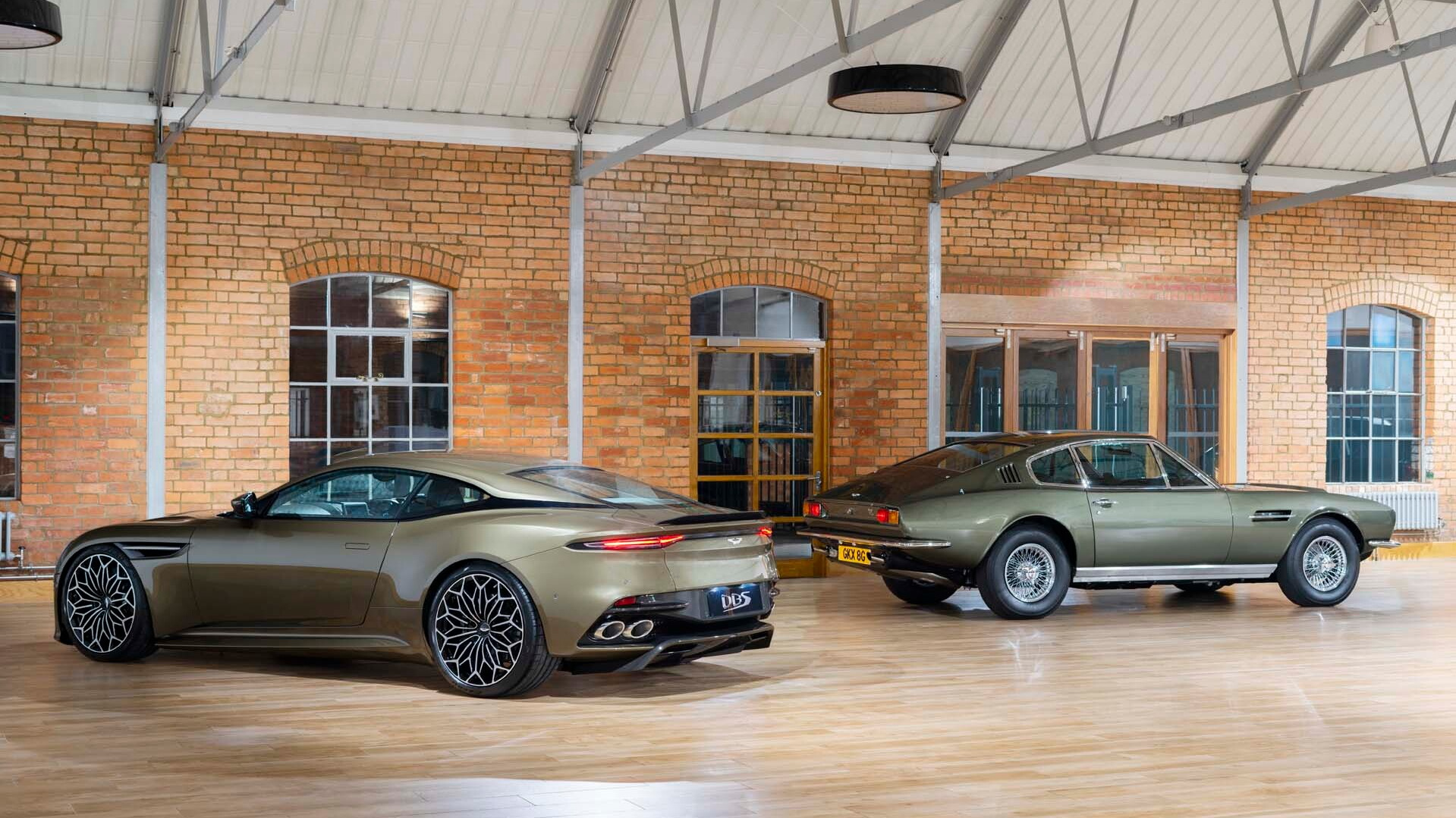 Aston Martin Built A Bond Themed DBS Superleggera