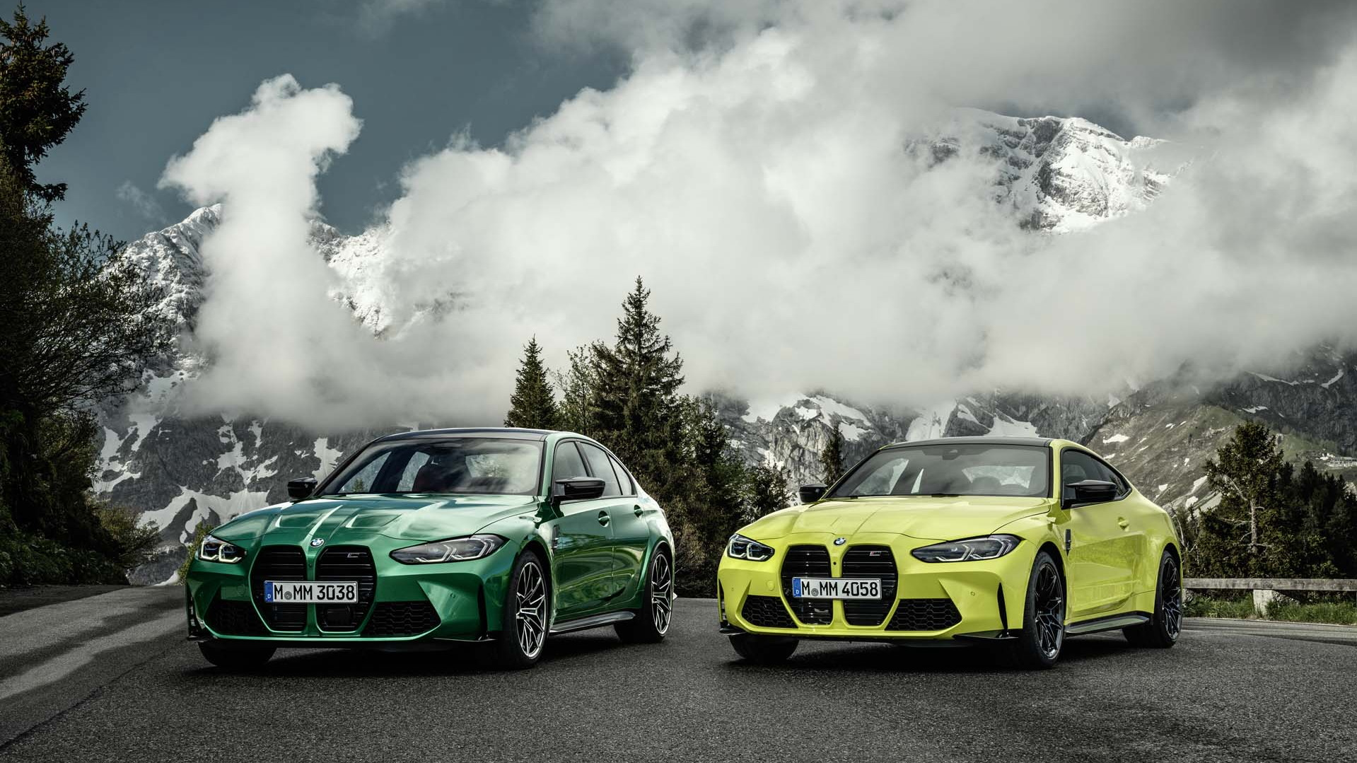 2021 BMW M3 and M4