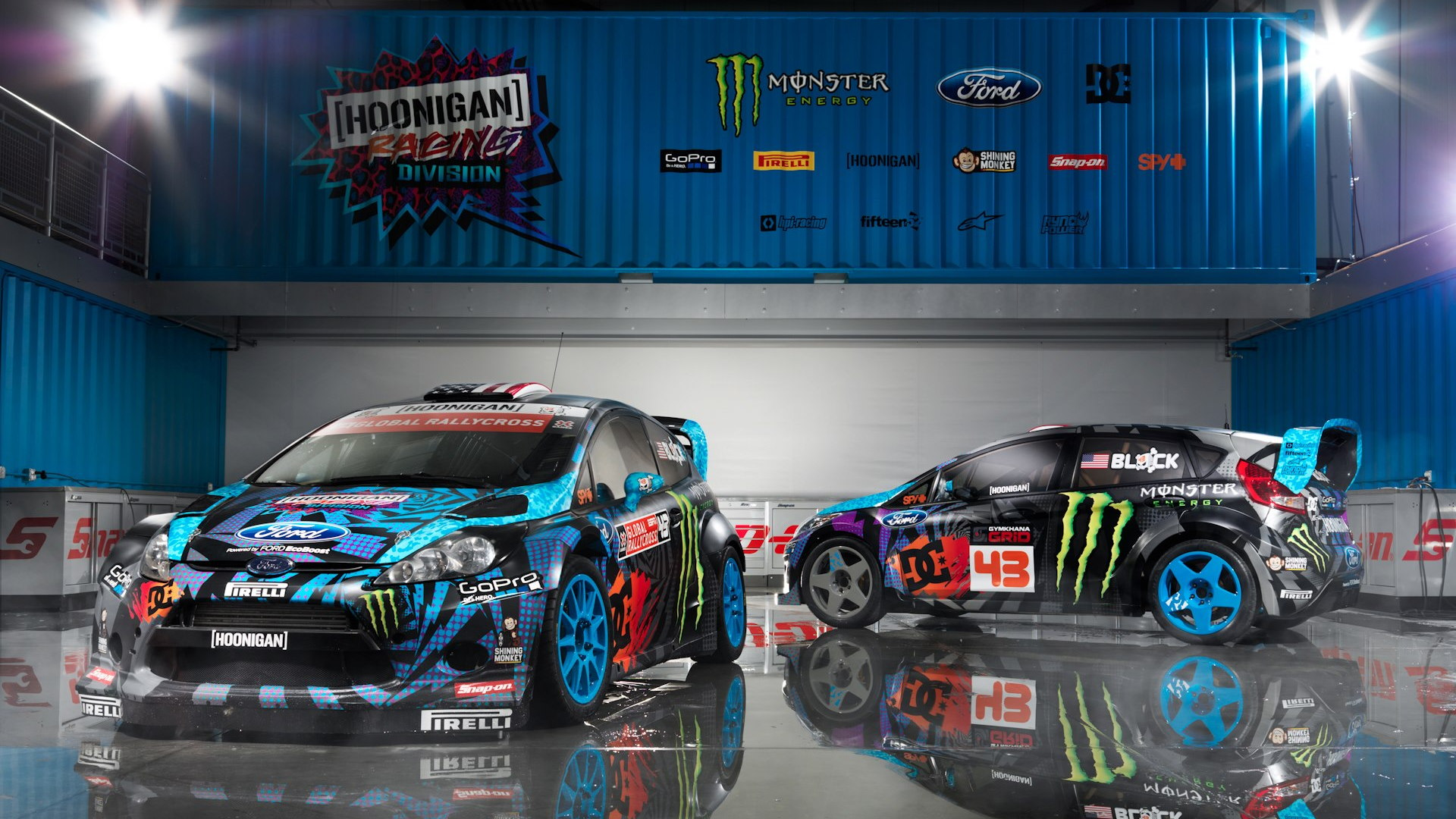 Ken Block's 2013 Hoonigan Racing Division livery
