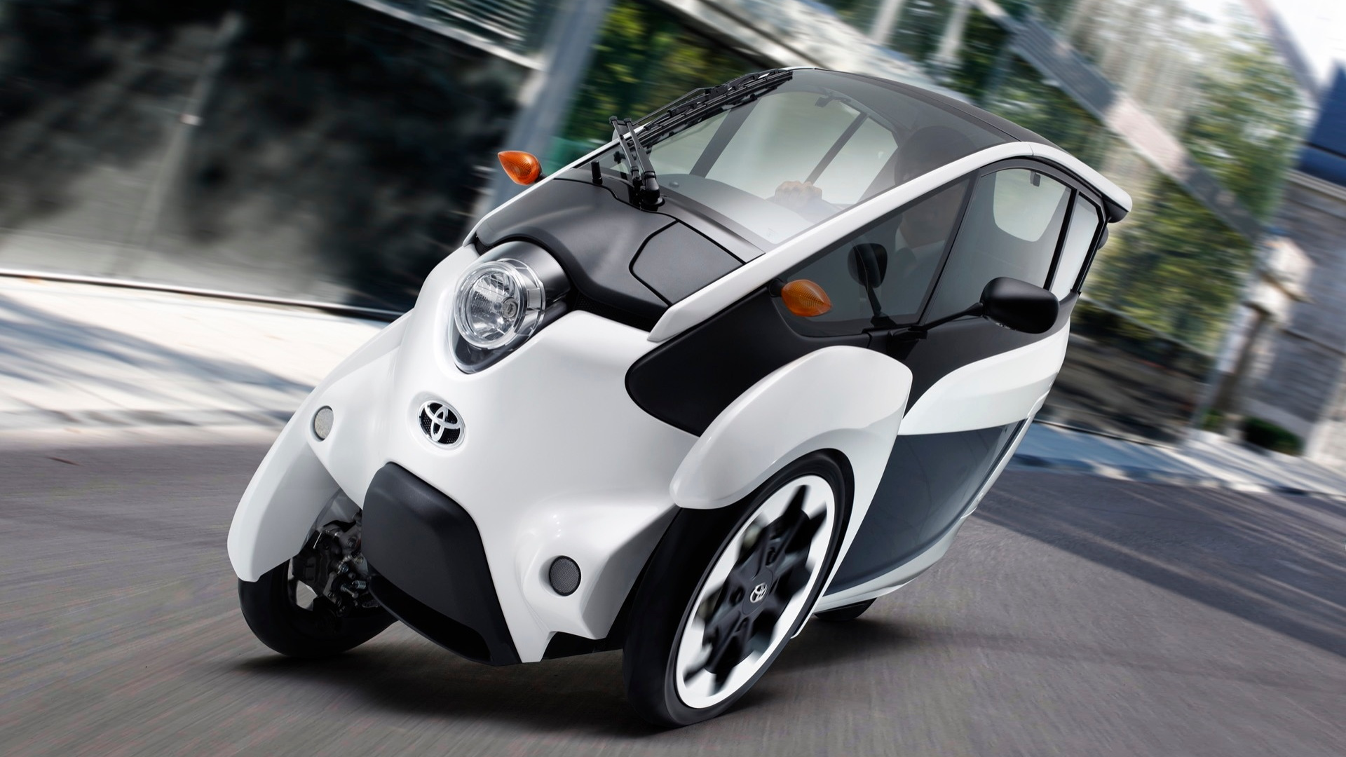 Toyota i-Road electric urban mobility vehicle