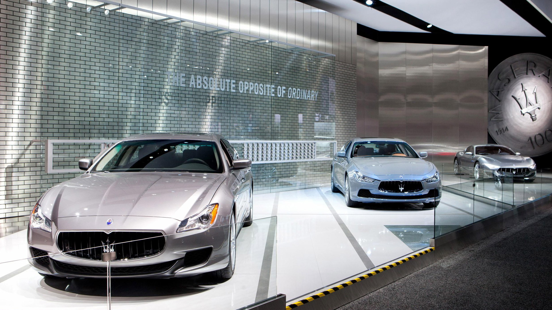 Maserati at the 2015 Detroit Auto Show