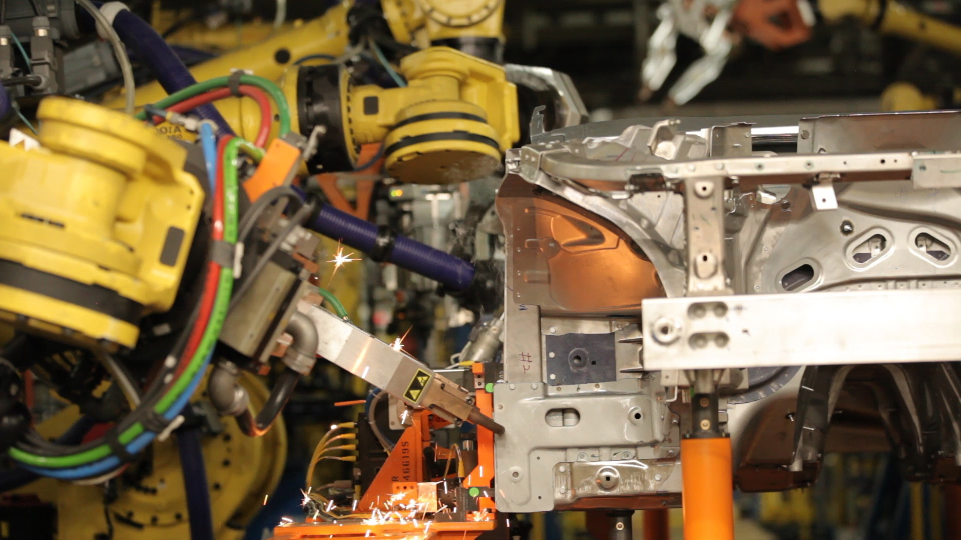 2016 Cadillac CT6 under construction at GM's Detroit-Hamtramck plant in Michigan