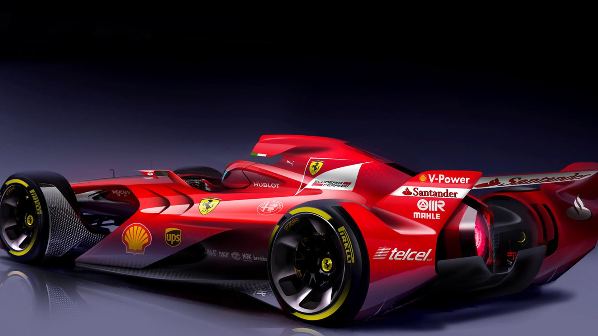 Ferrari Formula One concept