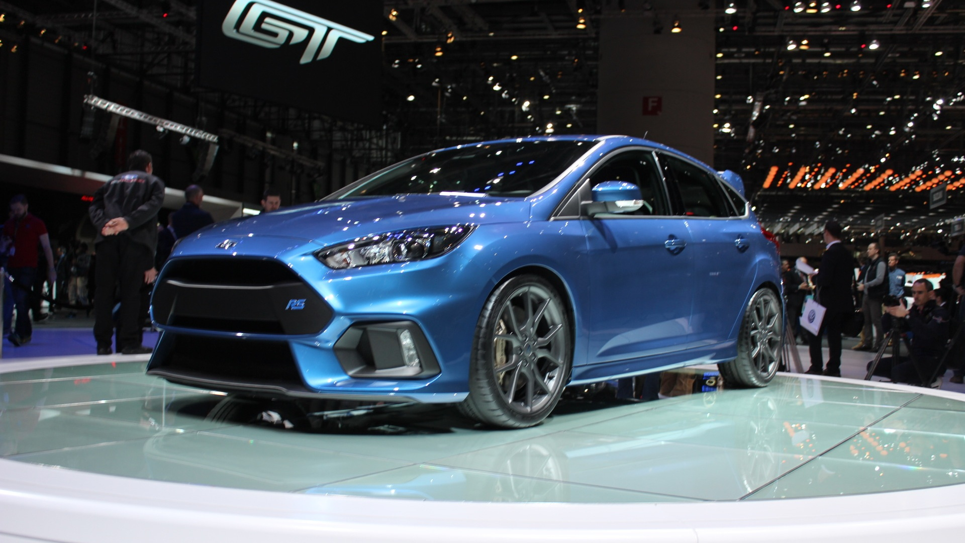 2016 Ford Focus RS  -  2015 Geneva Motor Show live photos