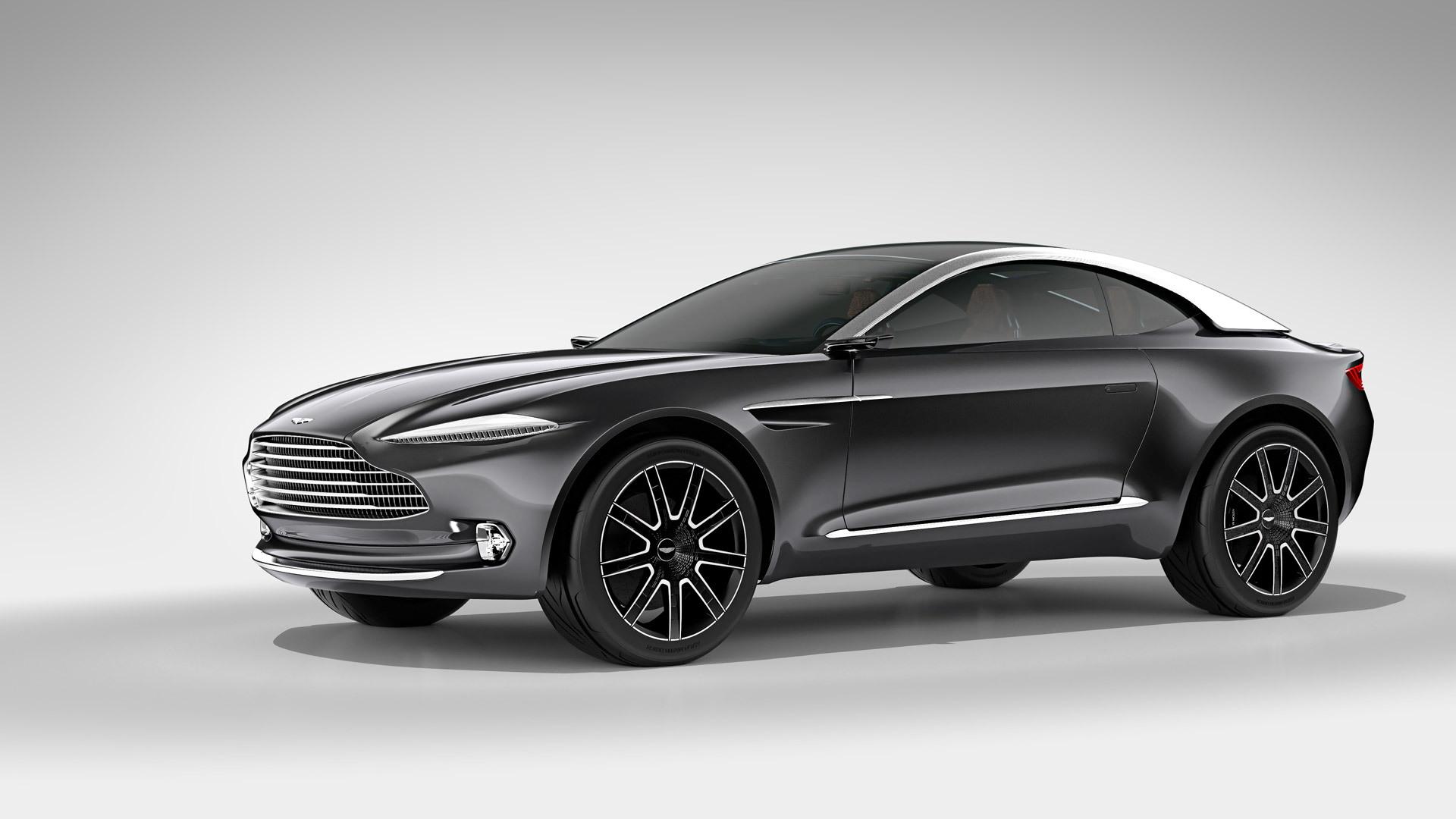 Aston Martin DBX concept, 2015 Geneva Motor Show