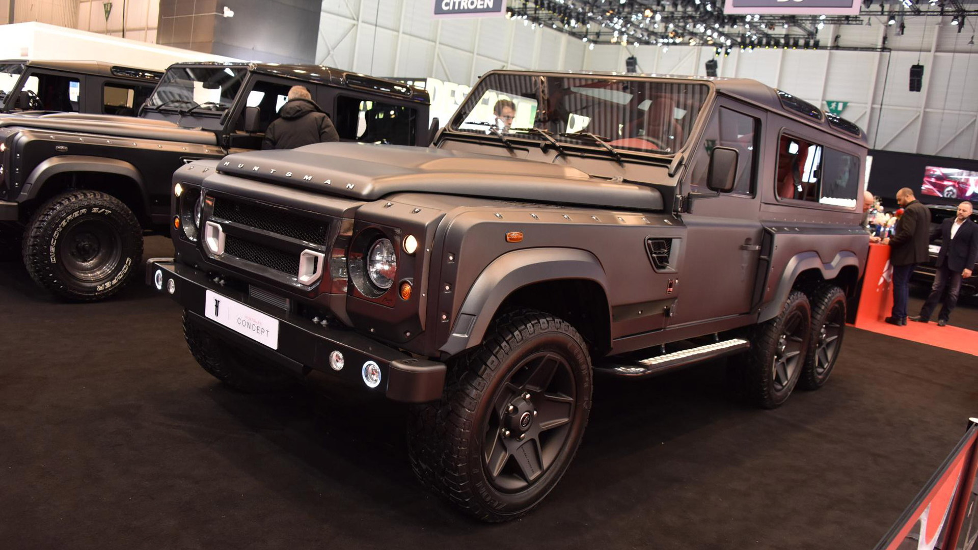 A. Kahn Design Flying Huntsman 110 WB 6x6