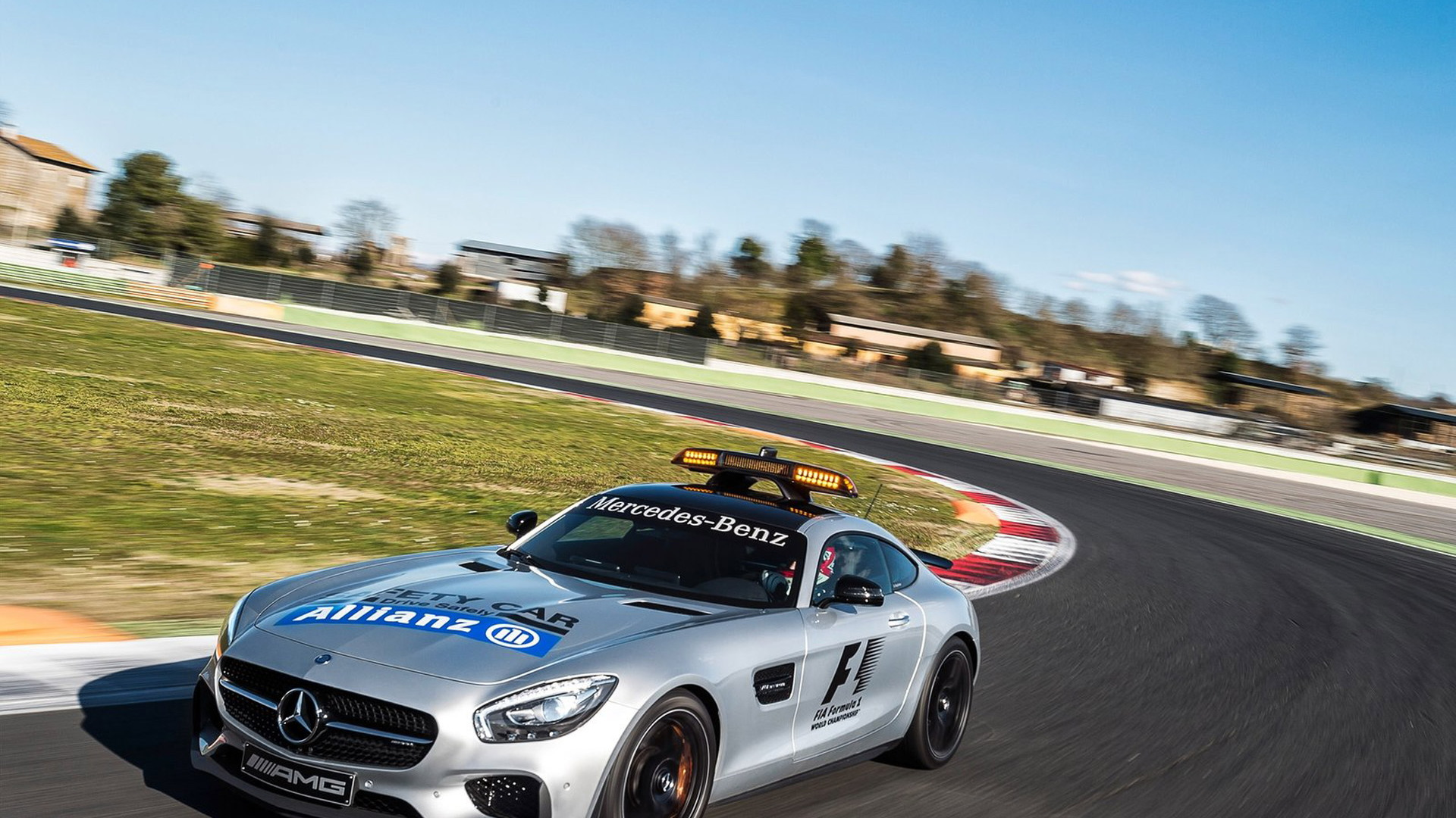 Mercedes-AMG GT S official safety car for the 2015 Formula One World Championship