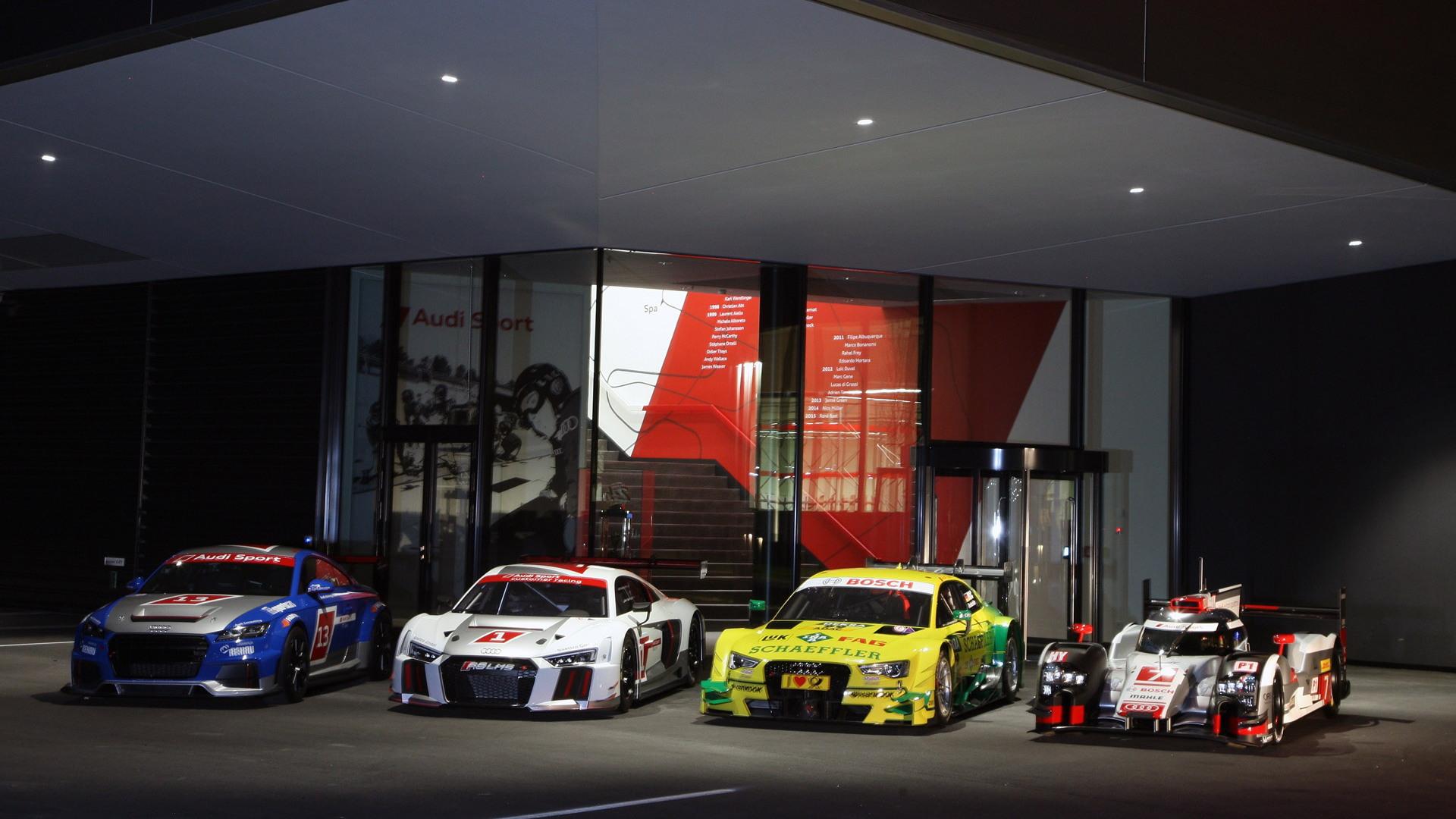 2015 Audi motorsports lineup