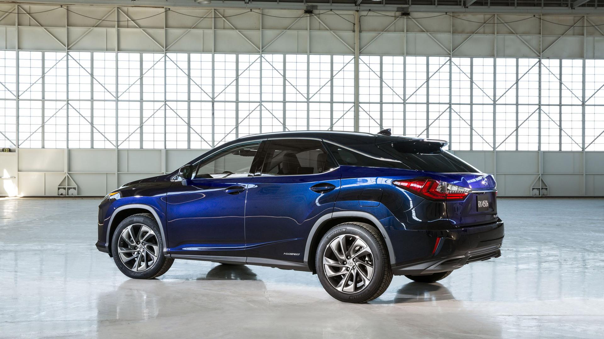 2016 Lexus RX 450h Hybrid Unveiled At New York Auto Show