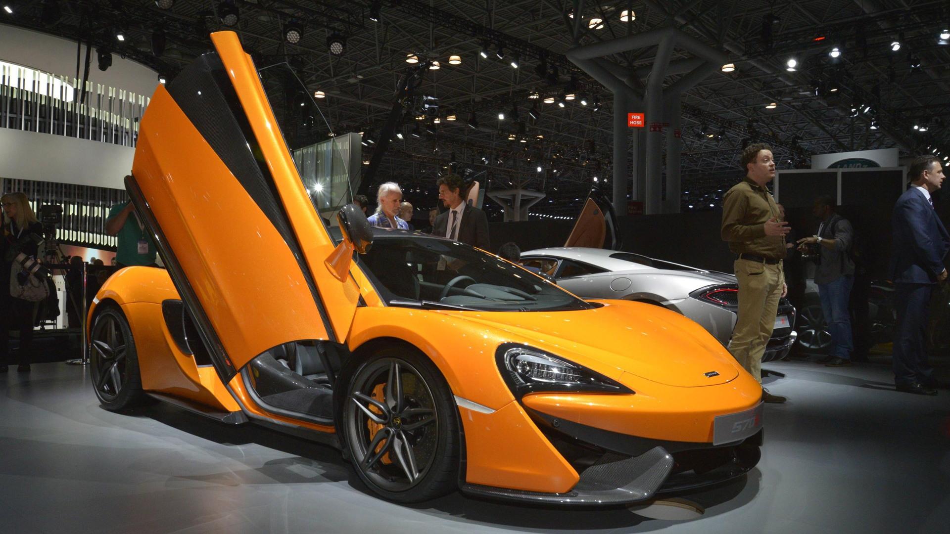 McLaren 570S Coupe, 2015 New York Auto Show
