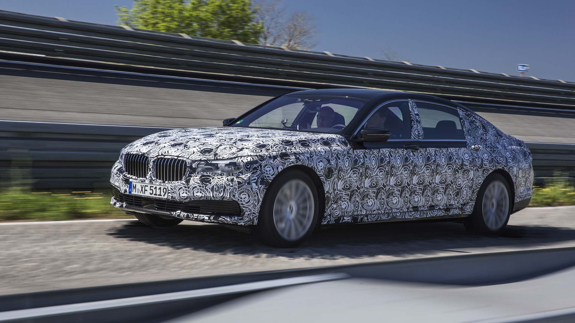 2016 BMW 7-Series prototype