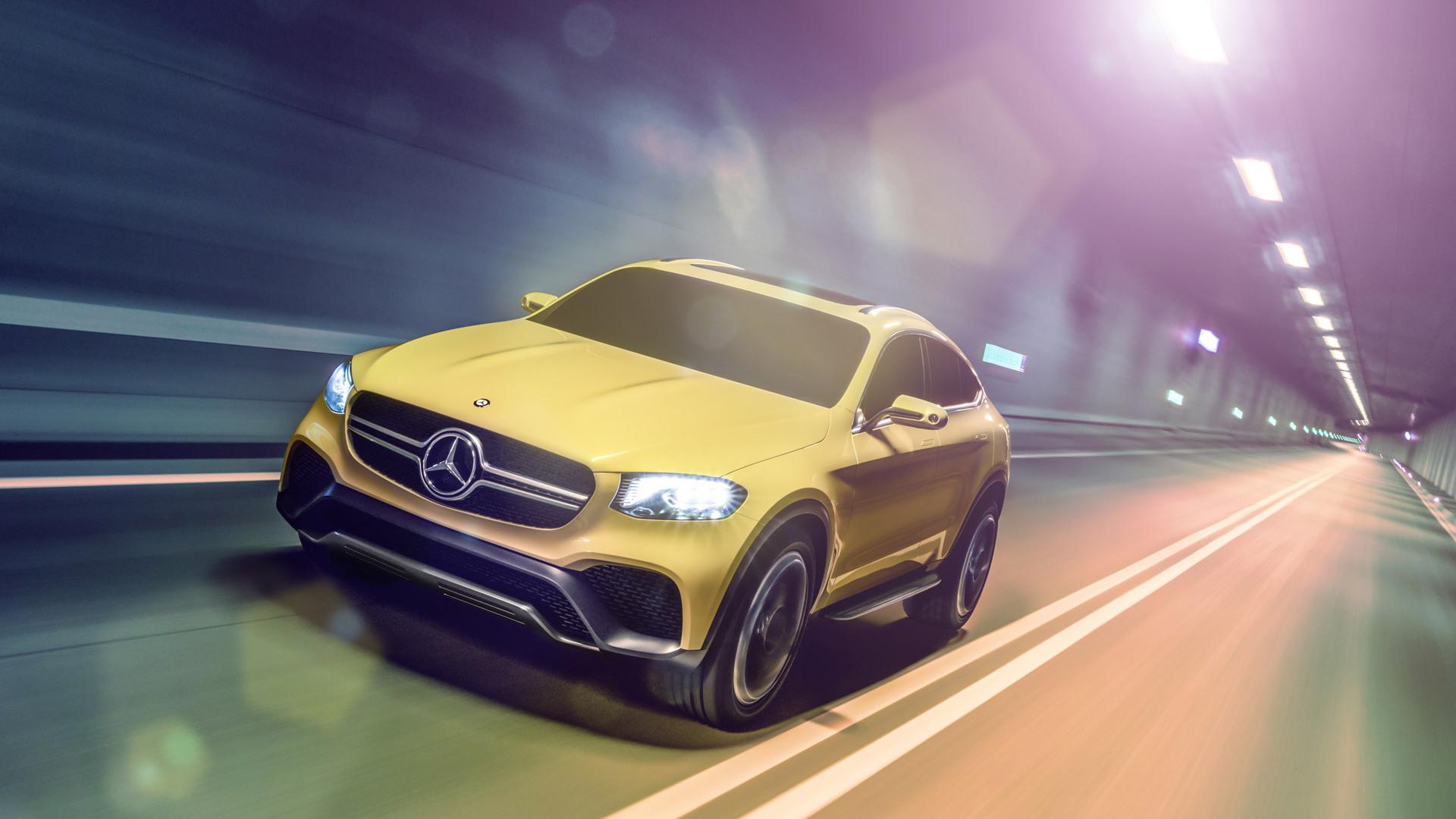 Mercedes-Benz Concept GLC Coupe, 2015 Shanghai Auto Show