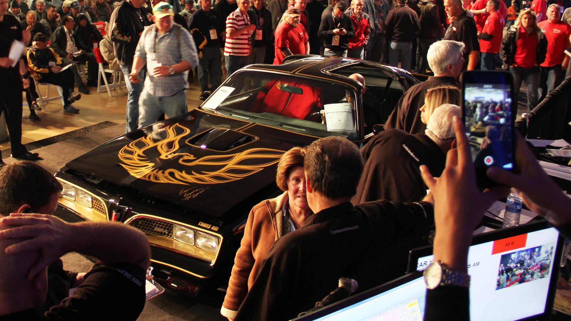 Burt Reynolds' 'Bandit' 1977 Pontiac Trans Am