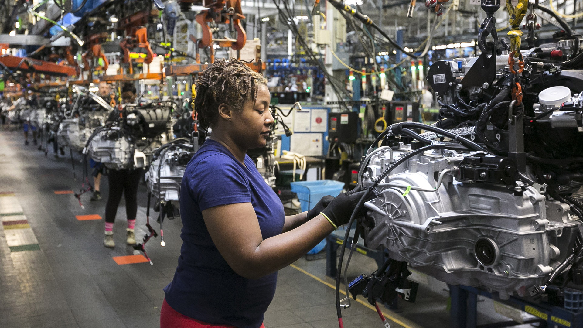 GM celebrates building its 500 millionth vehicle
