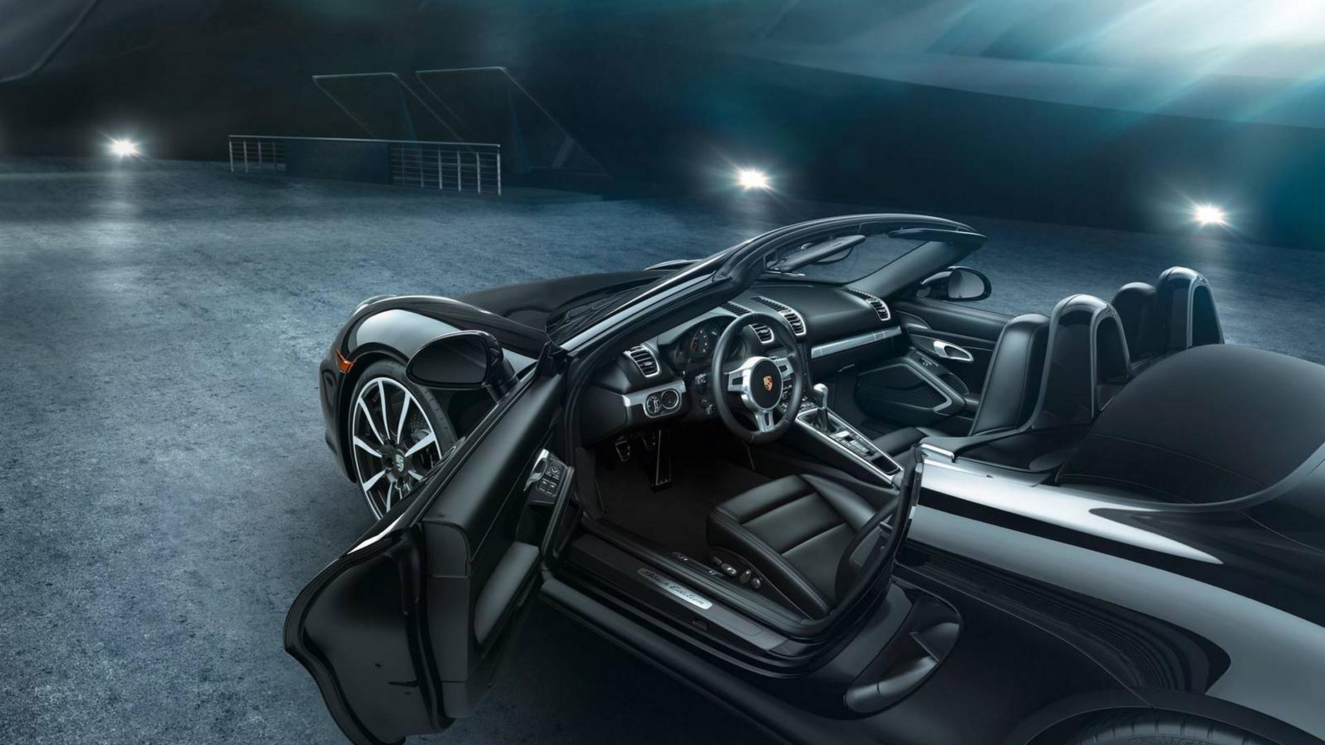 2016 Porsche Boxster Black Edition