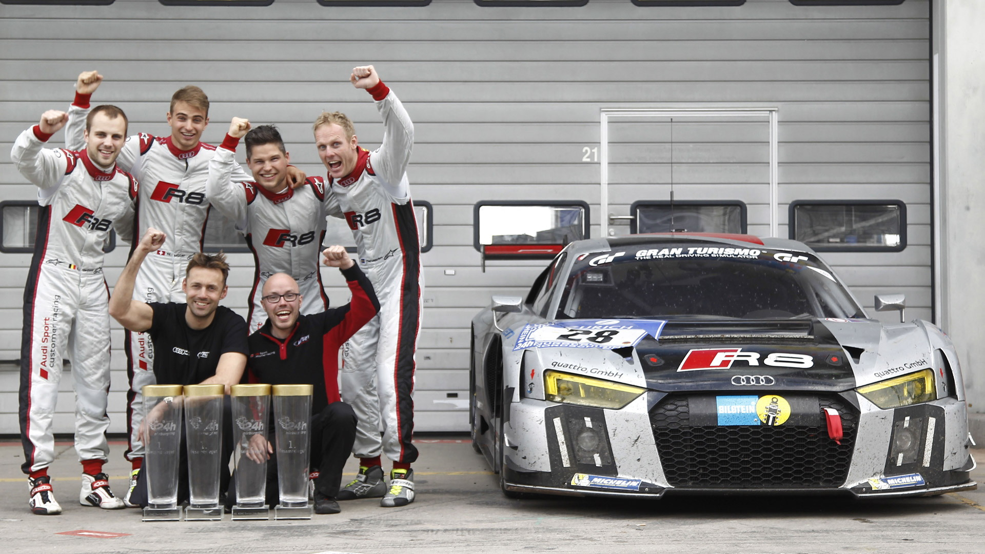 Audi at the 2015 Nürburgring 24 Hours