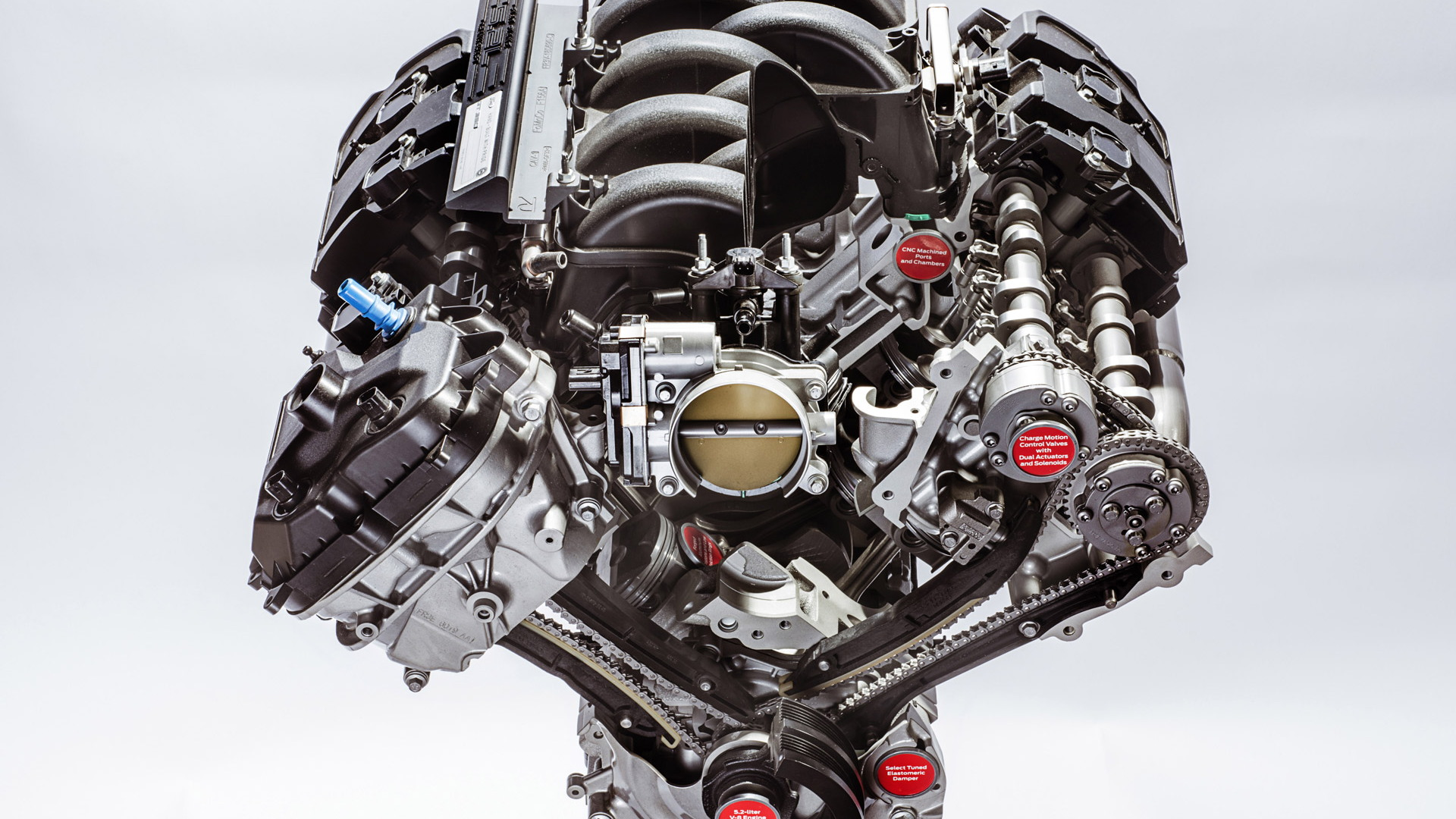 5.2-liter V-8 from the Ford Mustang Shelby GT350