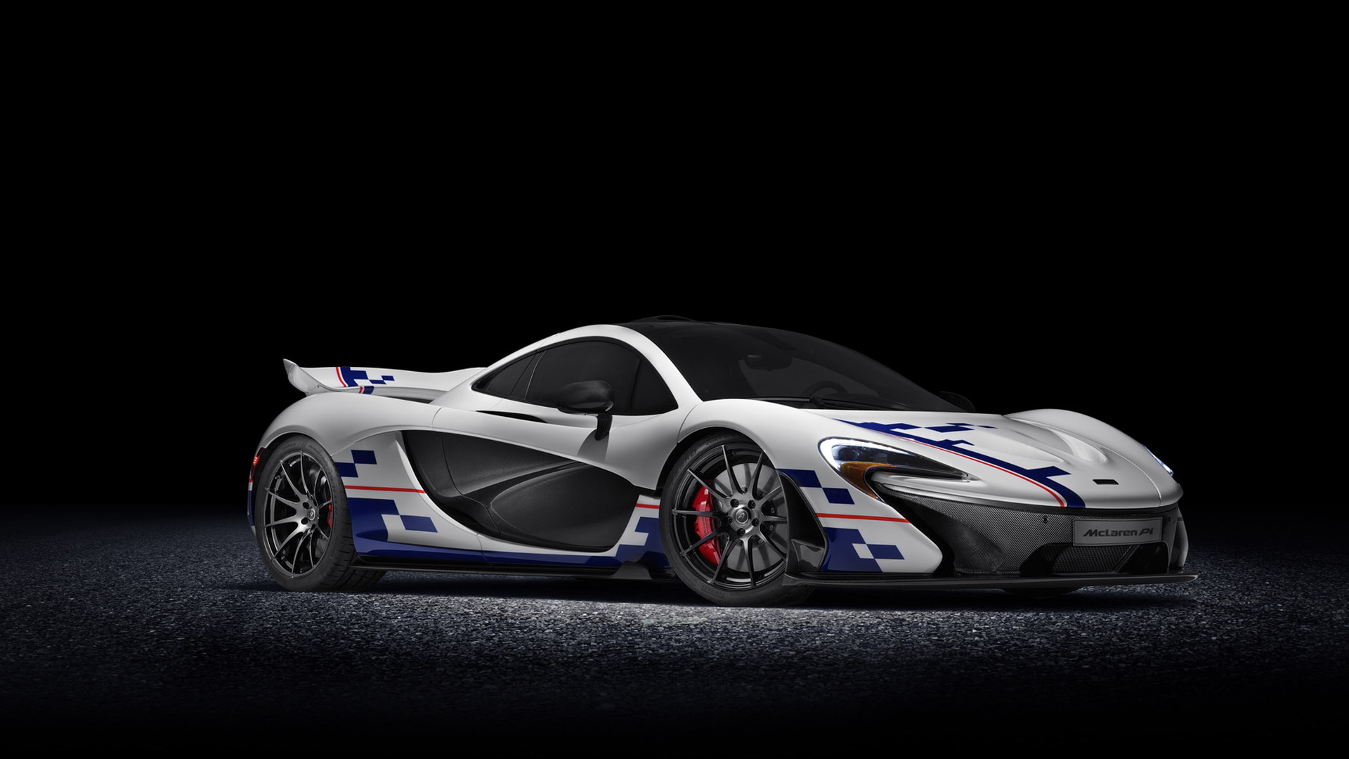 Alain Prost-inspired McLaren P1