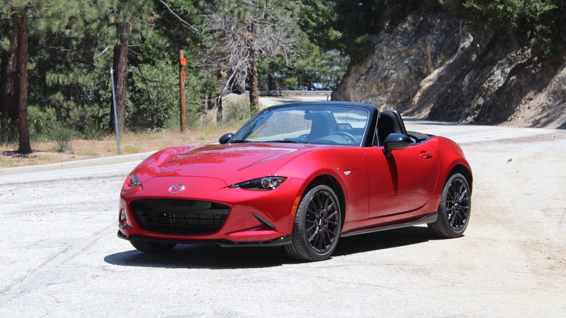 2016 Mazda MX-5 Miata  -  First Drive, July 2015